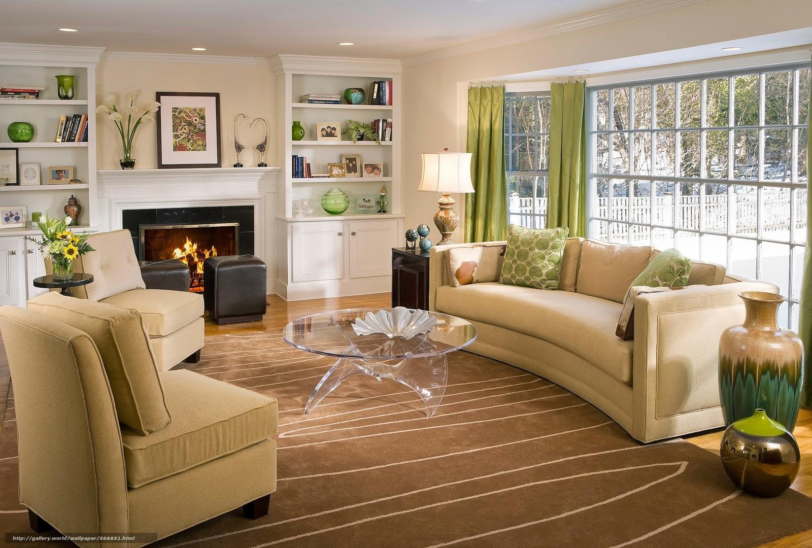 scaricare gli sfondi tavolo,  caminetto,  Divani,  finestra Sfondi gratis per la risoluzione del desktop 2048x1383 — immagine №568851