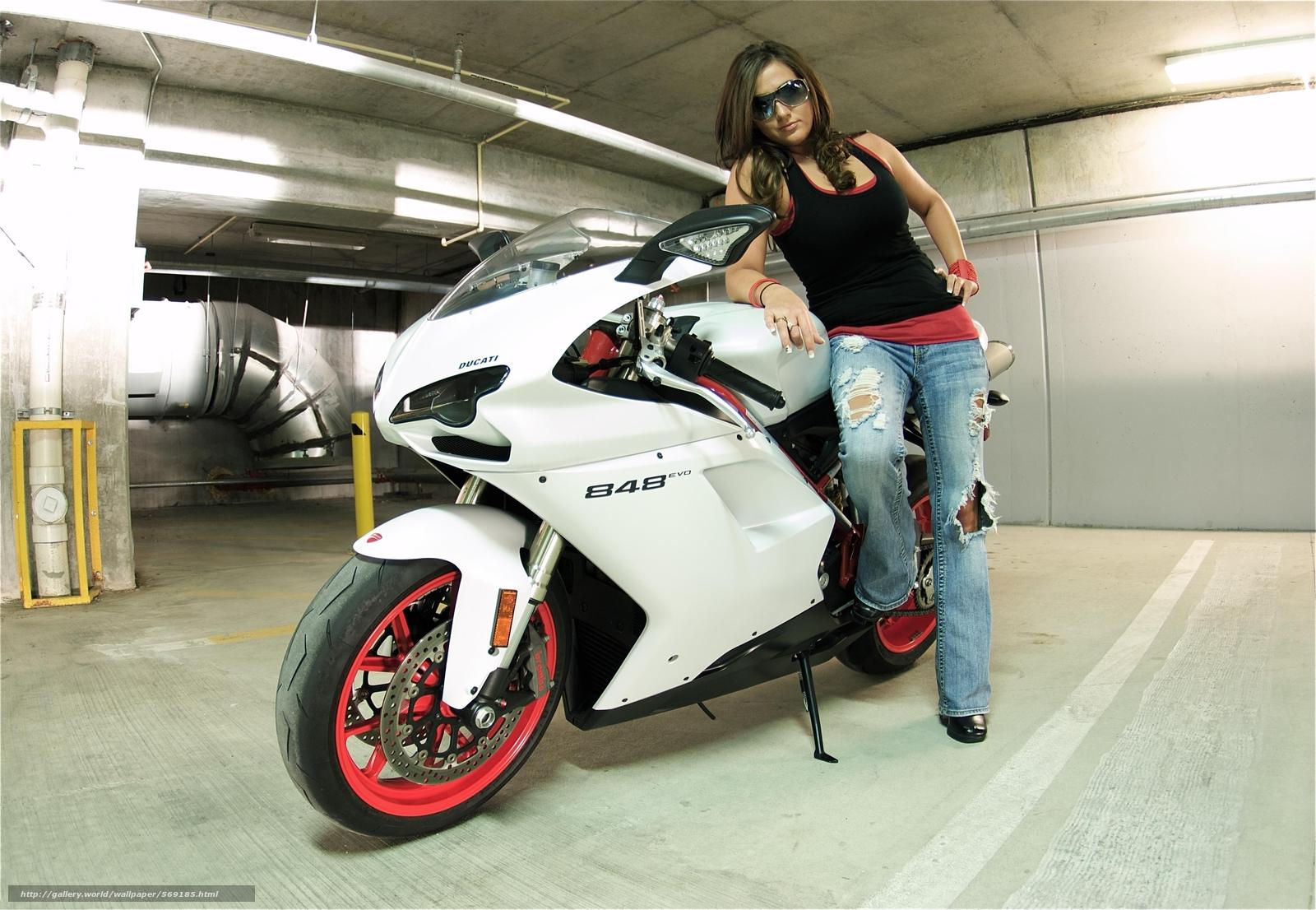 Tlcharger Fond d'ecran moto, motos, fille, Lunettes de ...
