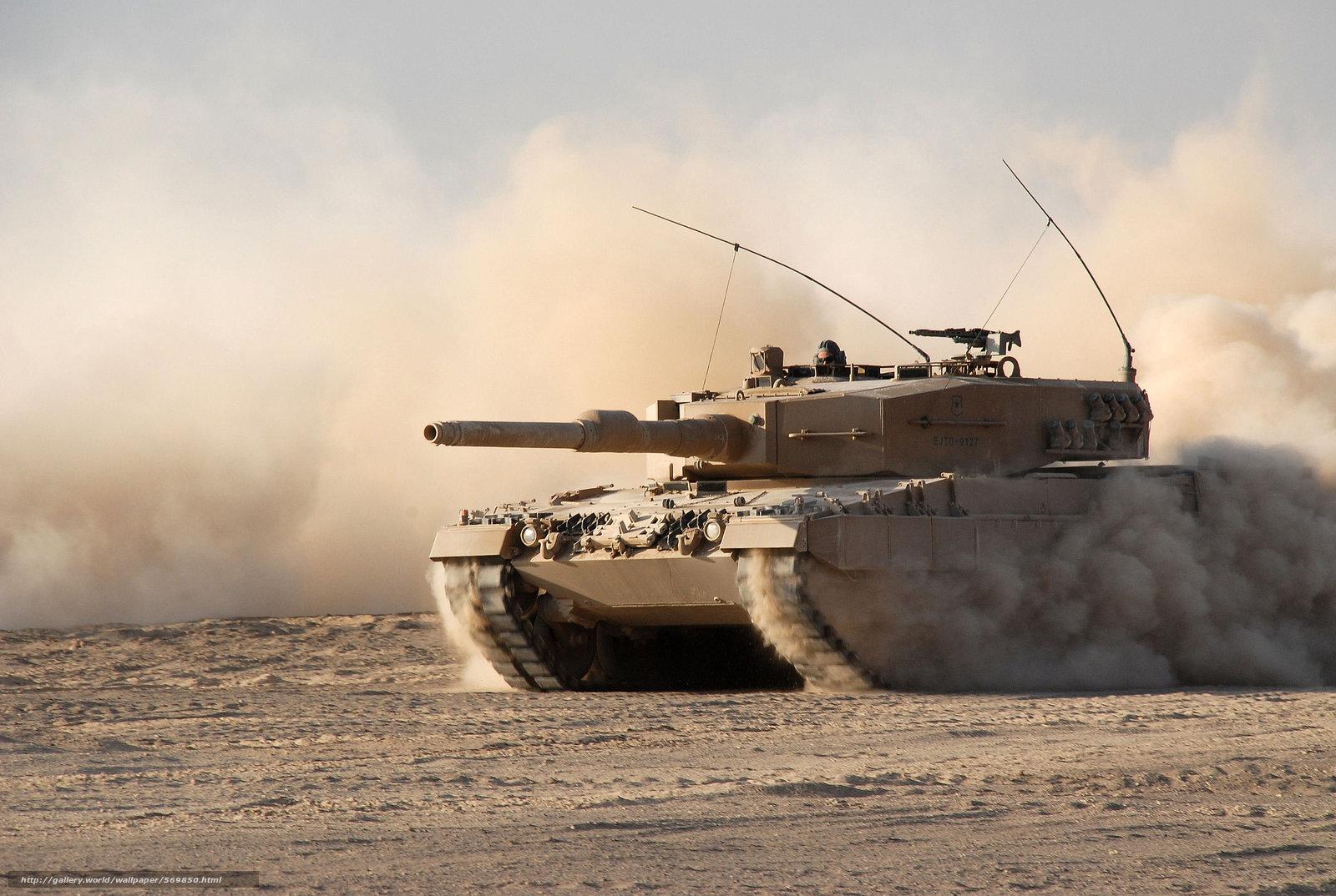Скачать обои боевой,  бронетехника,  танк,  пыль бесплатно для рабочего стола в разрешении 2896x1944 — картинка №569850