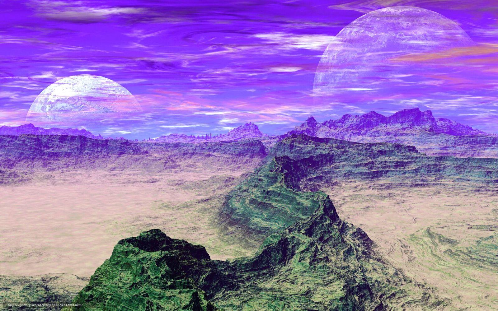 Descargar gratis cielo,  planeta,  nubes,  Montañas Fondos de escritorio en la resolucin 1920x1200 — imagen №571593