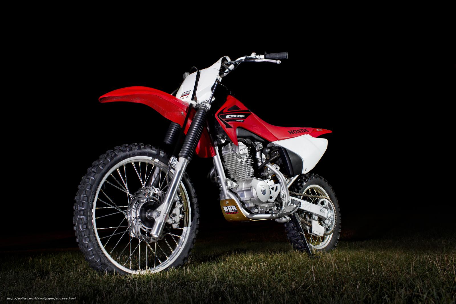 pobra tapety Honda CRF 150F,  czerwony,  motocross Darmowe tapety na pulpit rozdzielczoci 5184x3456 — zdjcie №571855