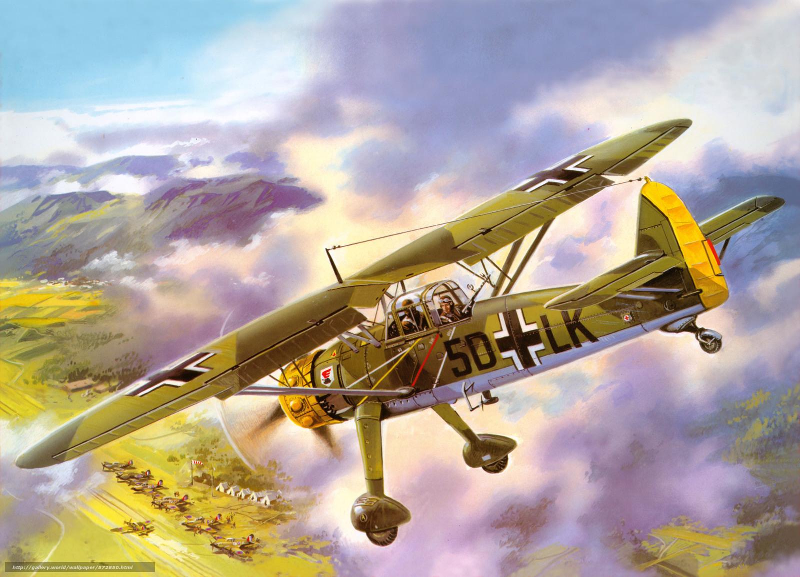 Скачать обои горы,  земля,  самолёты,  взлётное поле бесплатно для рабочего стола в разрешении 7225x5216 — картинка №572850