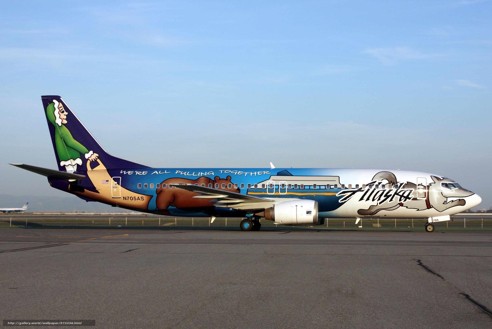Скачать обои Самолёт,  лайнер,  авиация,  боинг бесплатно для рабочего стола в разрешении 4048x2708 — картинка №573338