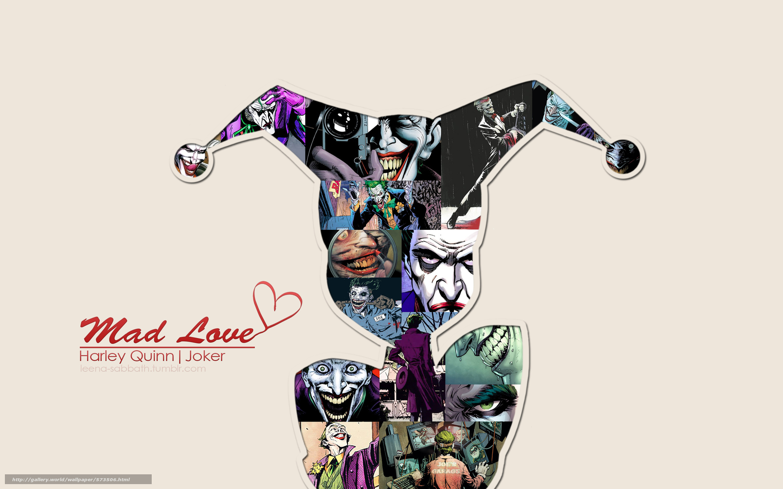 Download Hintergrund Joker,  Harley Quinn Freie desktop Tapeten in der Auflosung 2560x1600 — bild №573506
