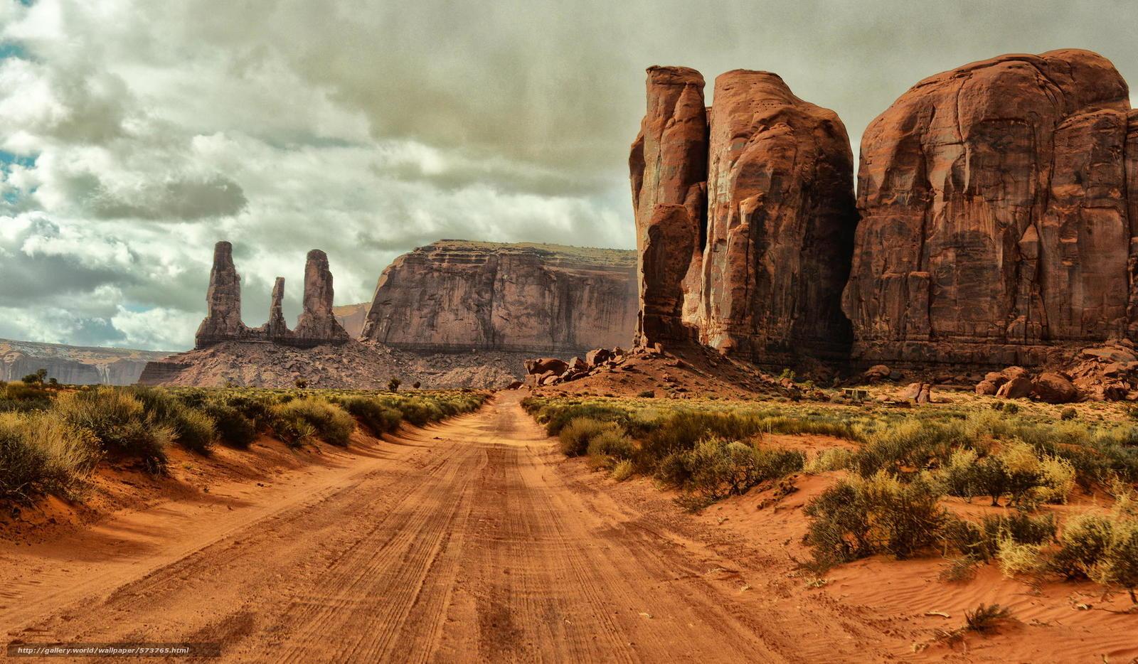 Descargar gratis arbusto,  Monument Valley,  Rocas,  arena Fondos de escritorio en la resolucin 2048x1196 — imagen №573765