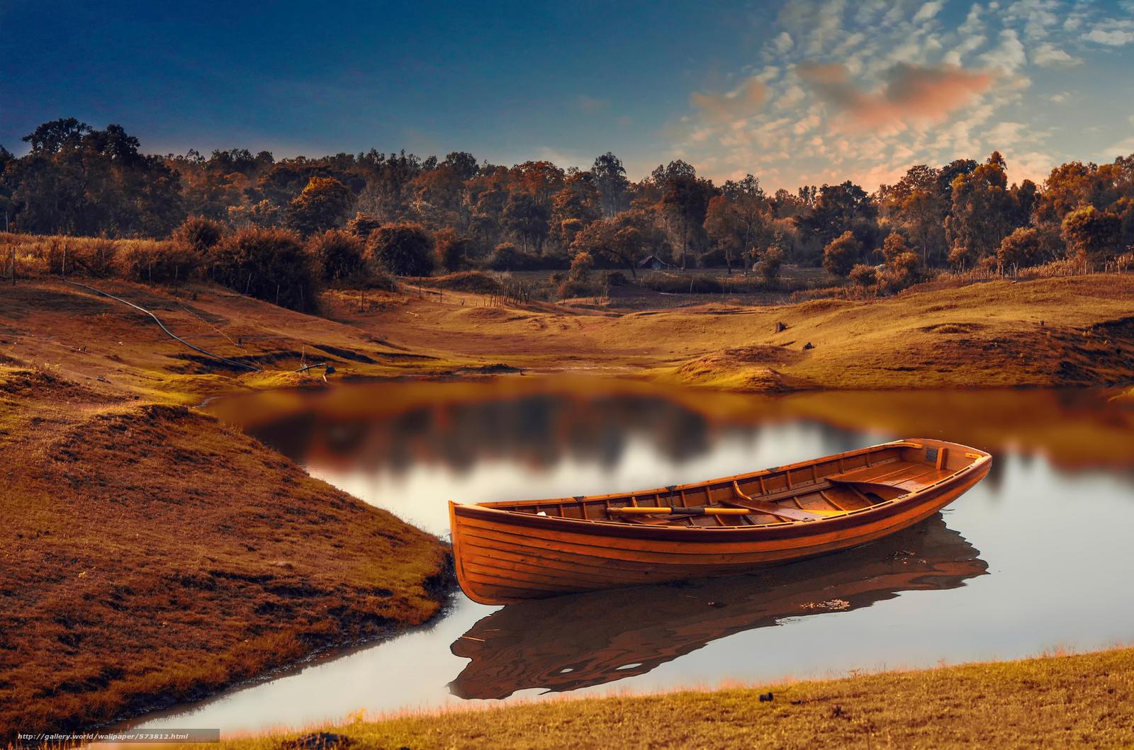 scaricare gli sfondi lavorazione,  imbarcazione,  fiume Sfondi gratis per la risoluzione del desktop 2048x1356 — immagine №573812