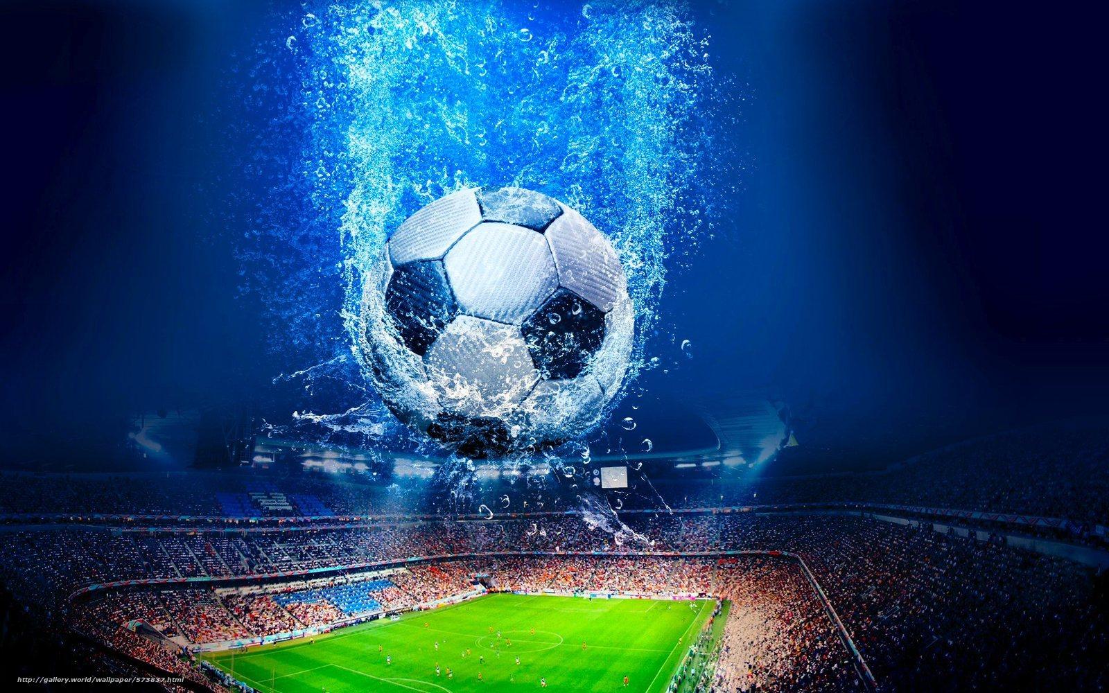 Download Hintergrund Stadion Ball Fussball Feld Freie