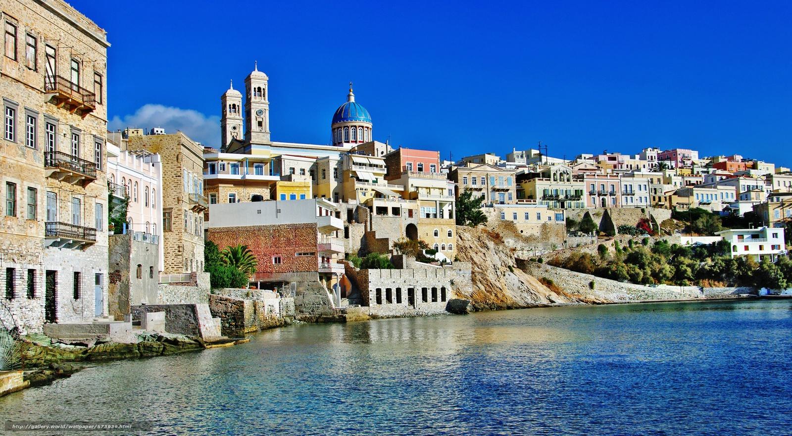 下载壁纸 基克拉泽斯,  锡罗斯,  滨,  爱琴海 免费为您的桌面分辨率的壁纸 4625x2548 — 图片 №573939