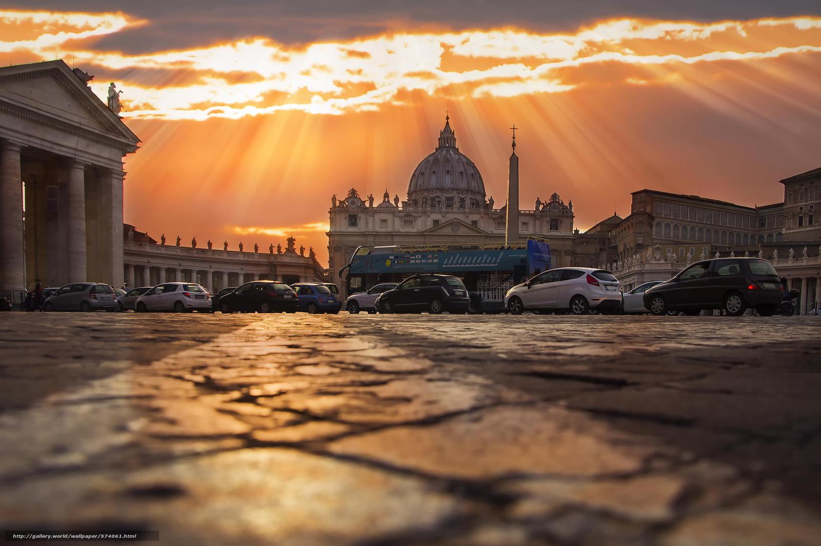 Scaricare Gli Sfondi Roma Tramonto Sfondi Gratis Per La Risoluzione
