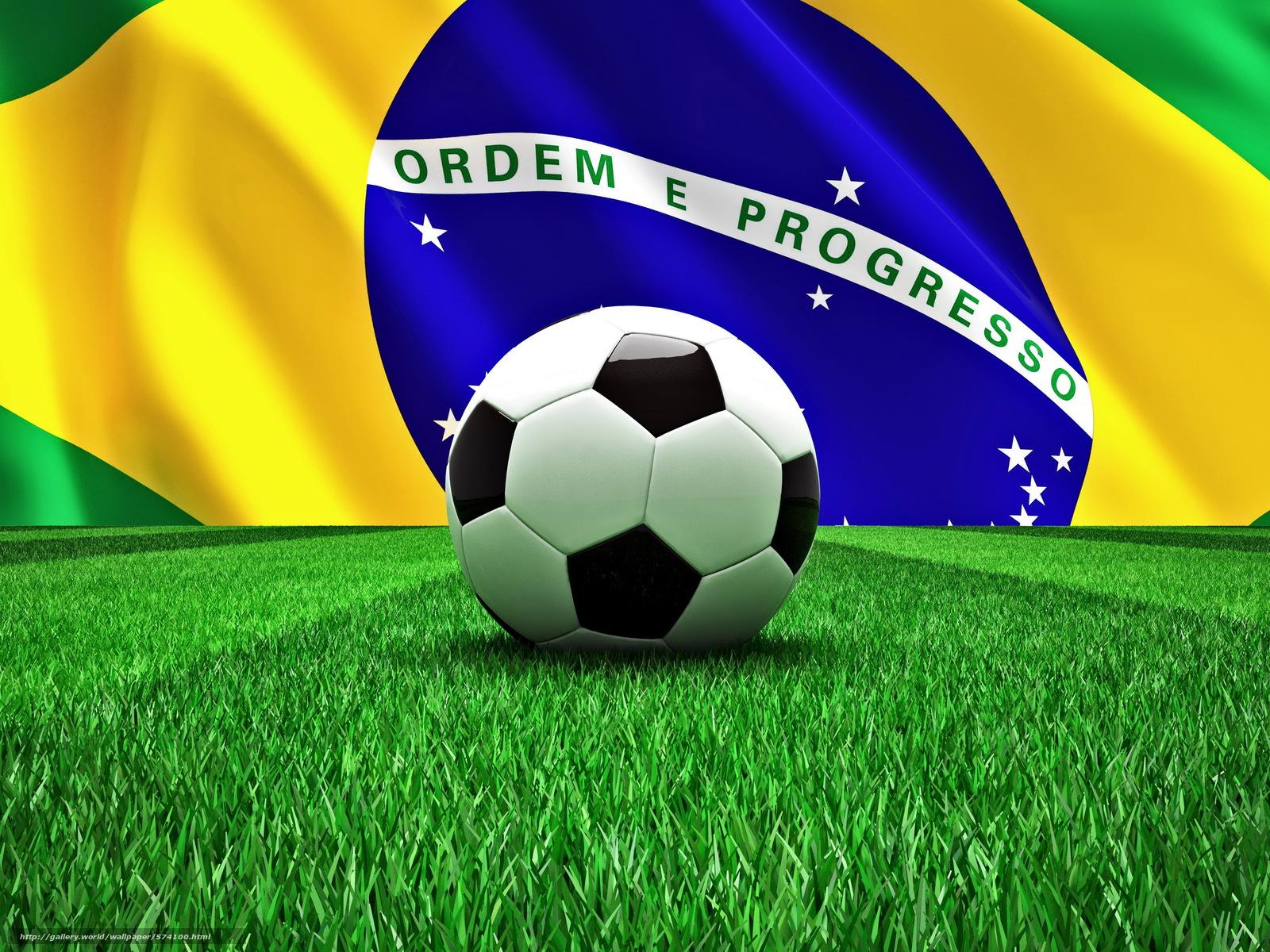 Download Hintergrund Fussball Ball Brasilien Wm Freie