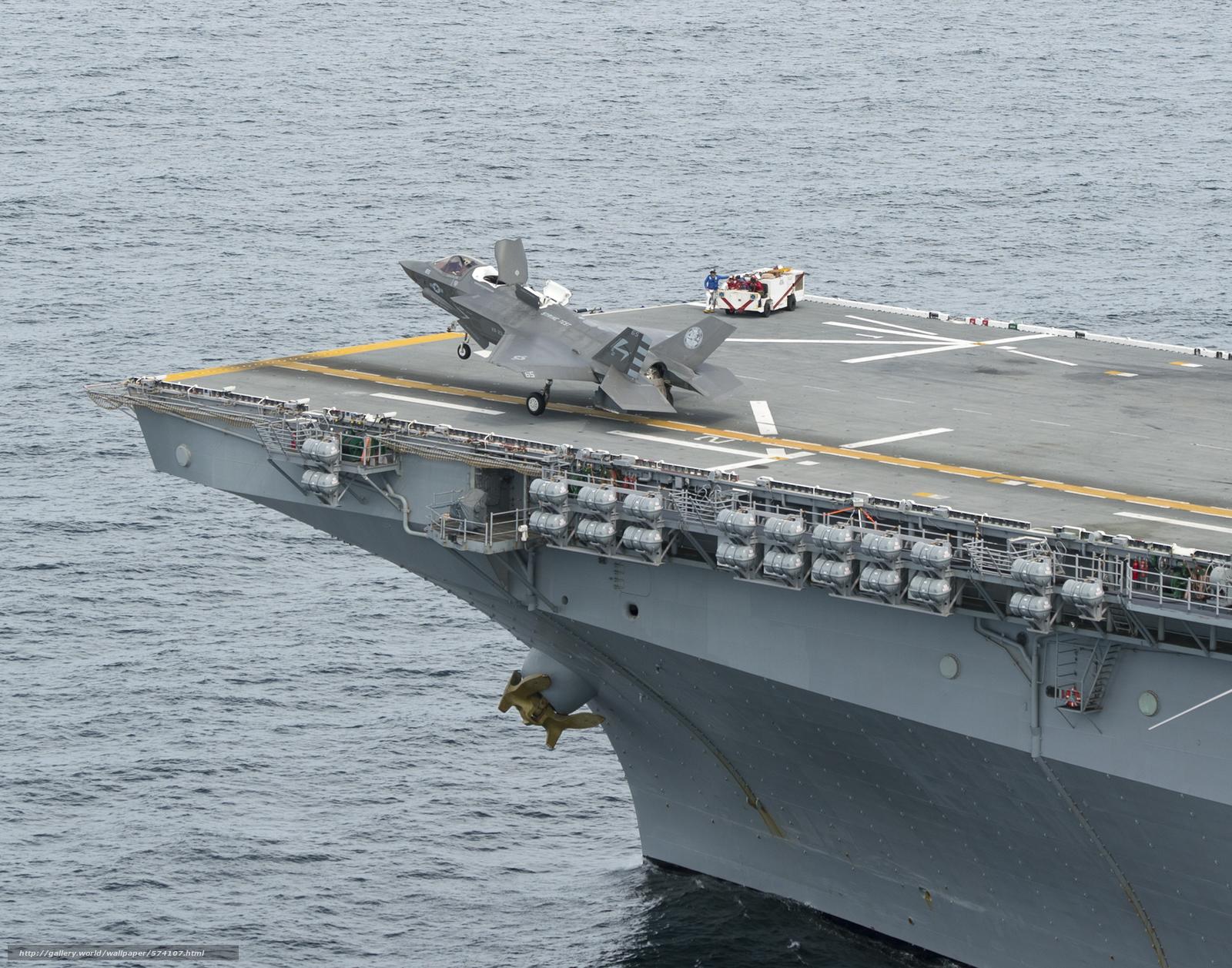 Скачать обои палуба,  уникальный,  американский,  универсальный десантный корабль бесплатно для рабочего стола в разрешении 3000x2357 — картинка №574107