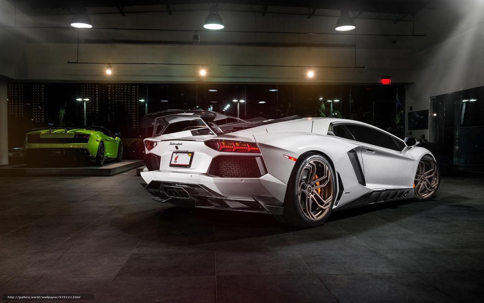 Скачать обои автообои,  тюнинг,  Lamborghini бесплатно для рабочего стола в разрешении 2560x1600 — картинка №575111