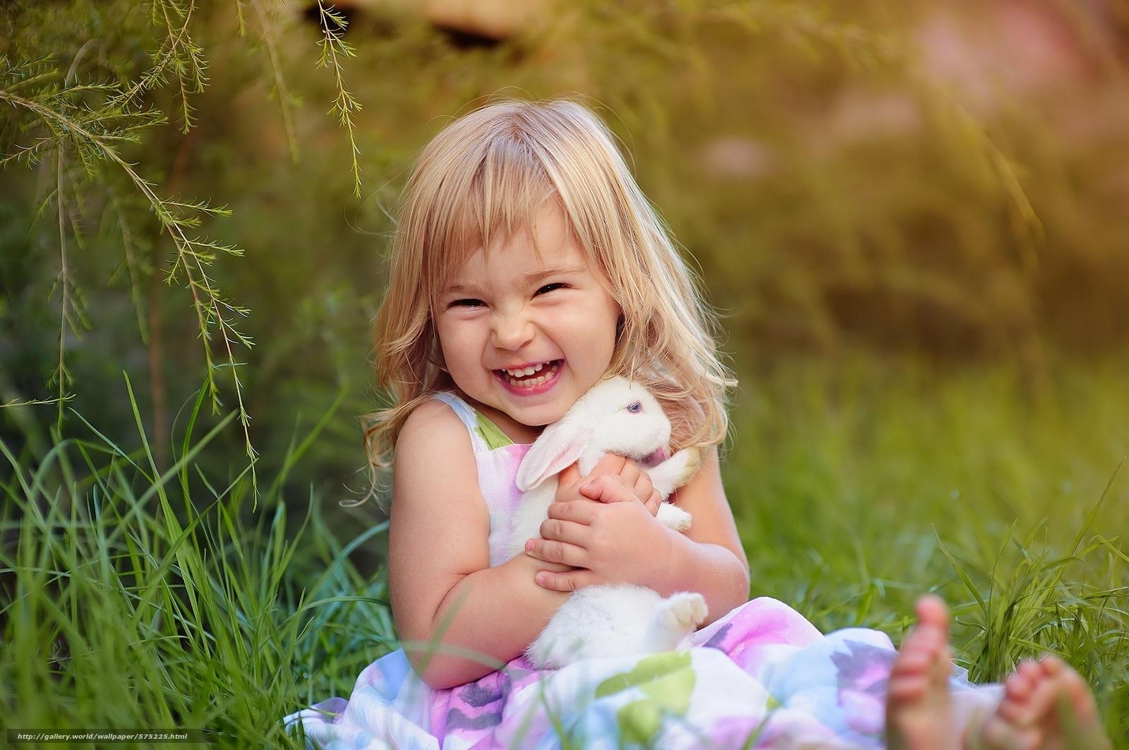 Download wallpaper joy,  rabbit,  girl,  mood free desktop wallpaper in the resolution 1920x1276 — picture №575225