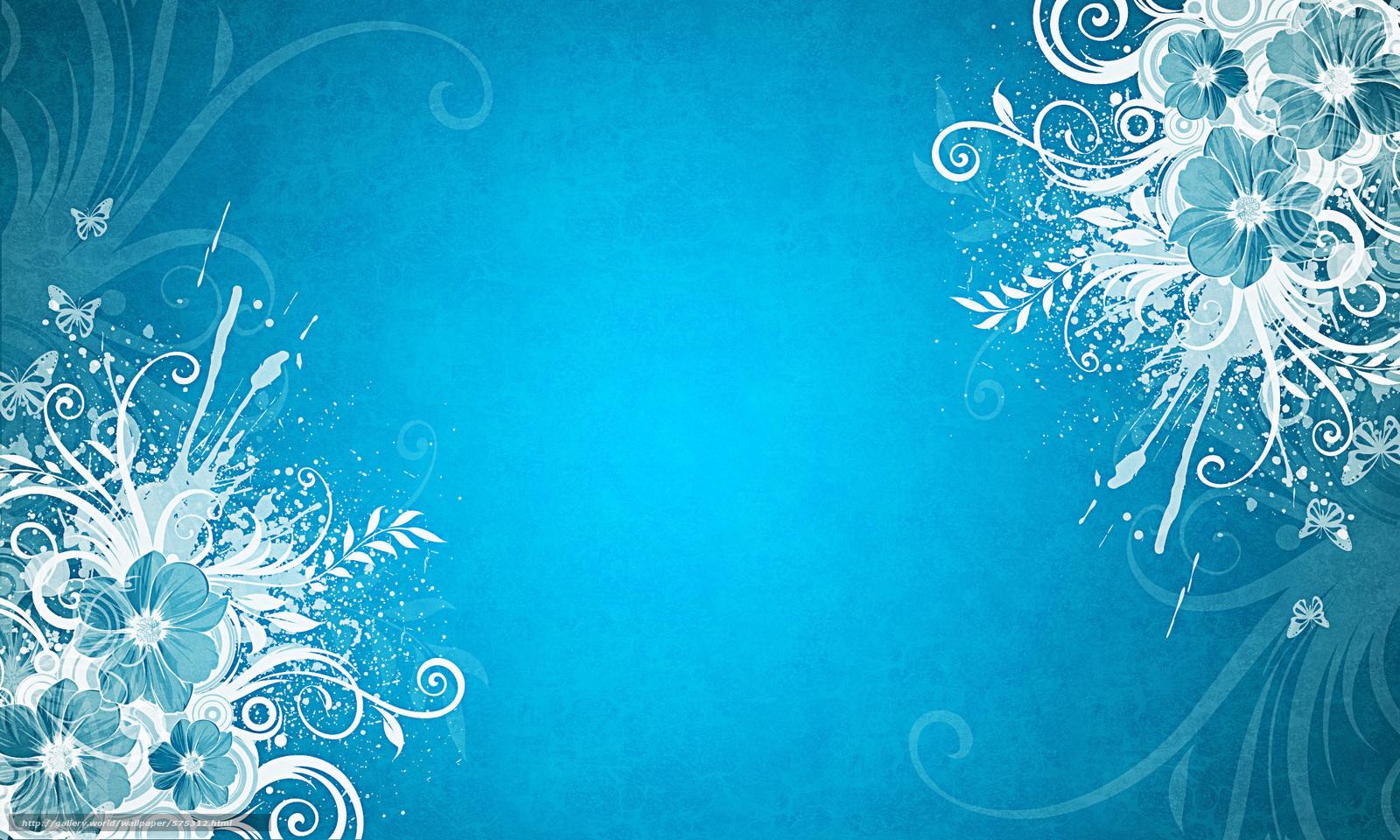 Scaricare gli sfondi sfondo blu farfalle fiori sfondi for Immagini farfalle per desktop