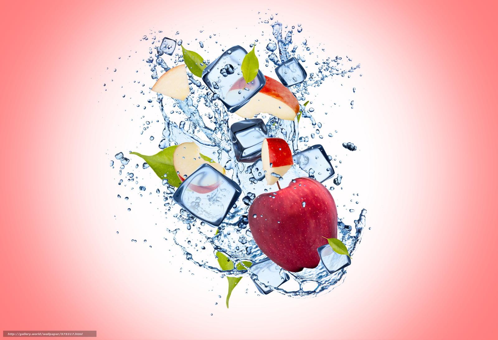 Scaricare Gli Sfondi Apple Acqua Gelato Sfondo Sfondi Gratis Per