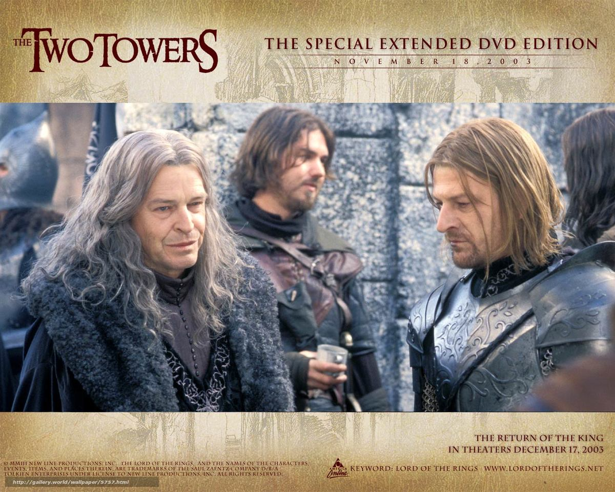 Download wallpaper Lord of the Rings: The Two Towers,  The Lord of the Rings: The Two Towers,  film,  movies free desktop wallpaper in the resolution 1280x1024 — picture №5757