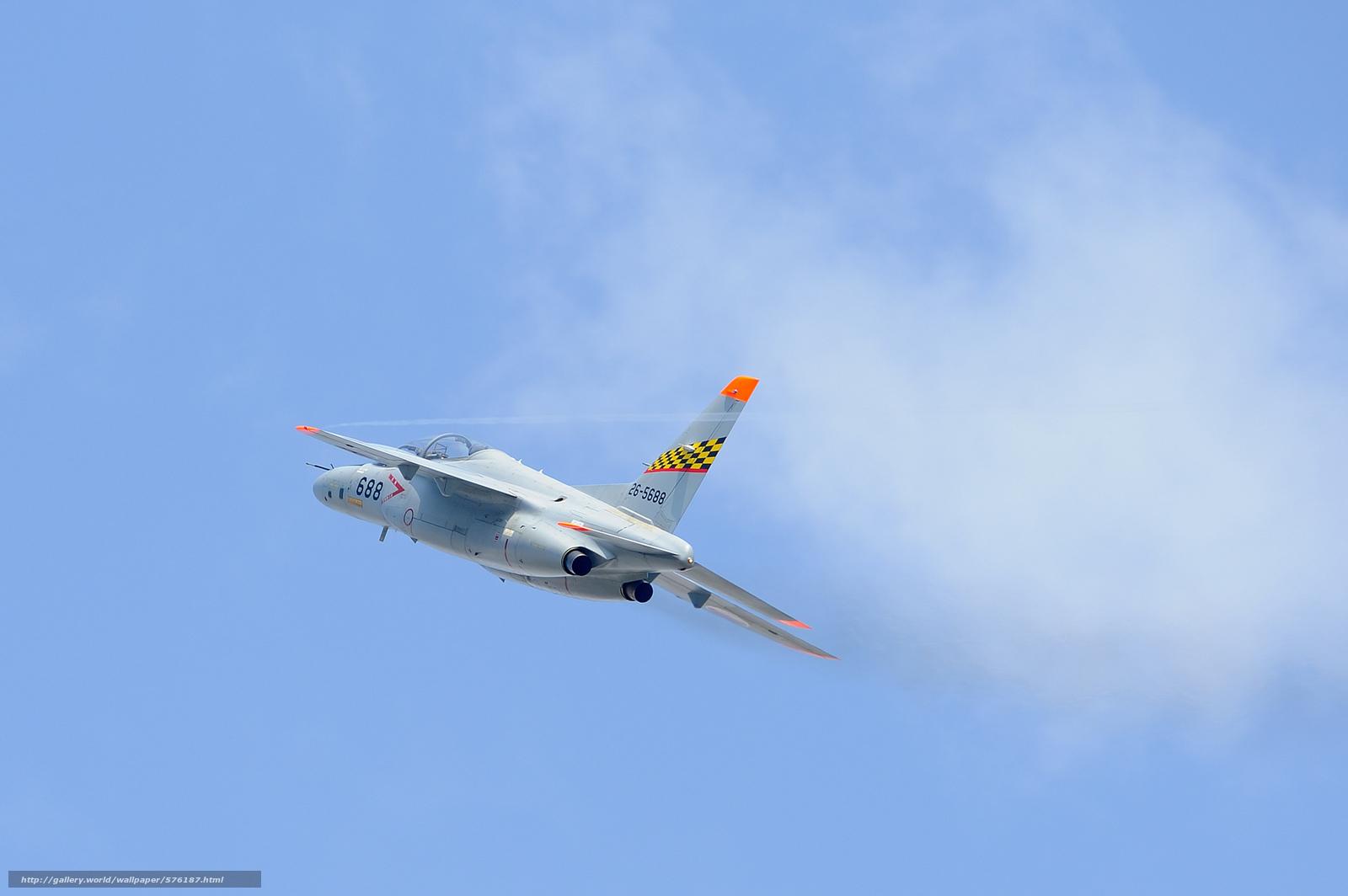 Tlcharger Fond d'ecran avion,  ciel,  entraîneur,  subsonique Fonds d'ecran gratuits pour votre rsolution du bureau 2048x1362 — image №576187