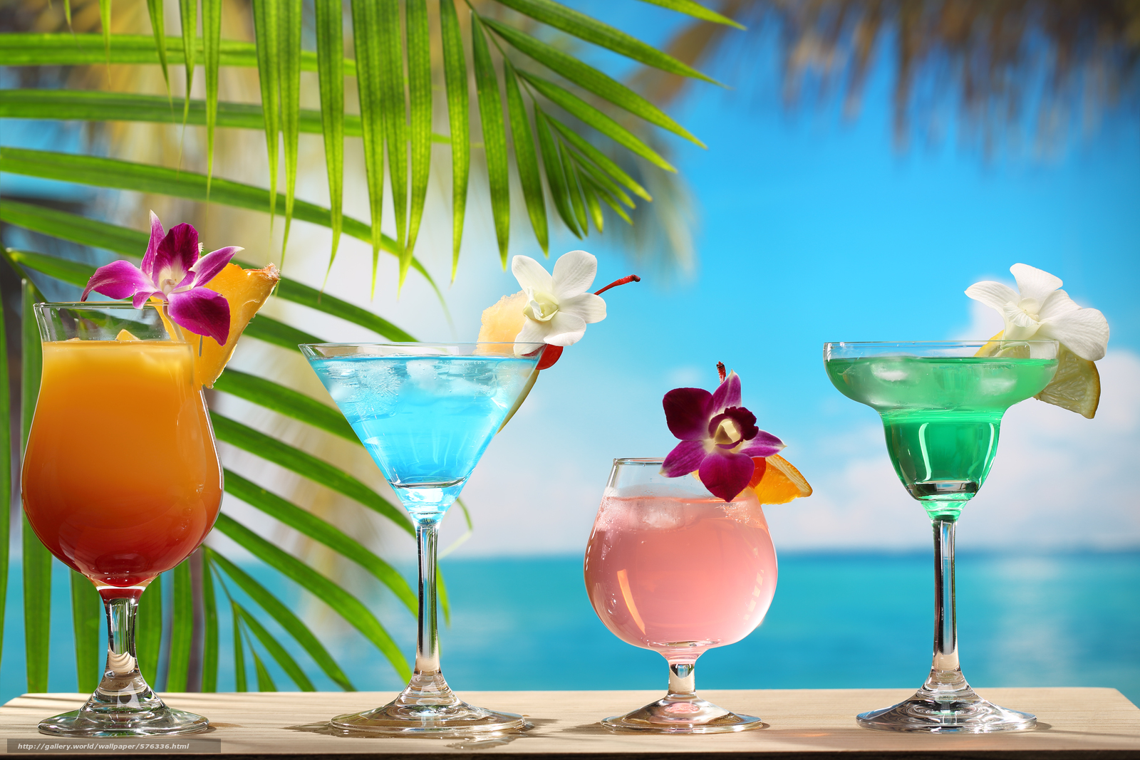 Обои для рабочего стола лето пляж