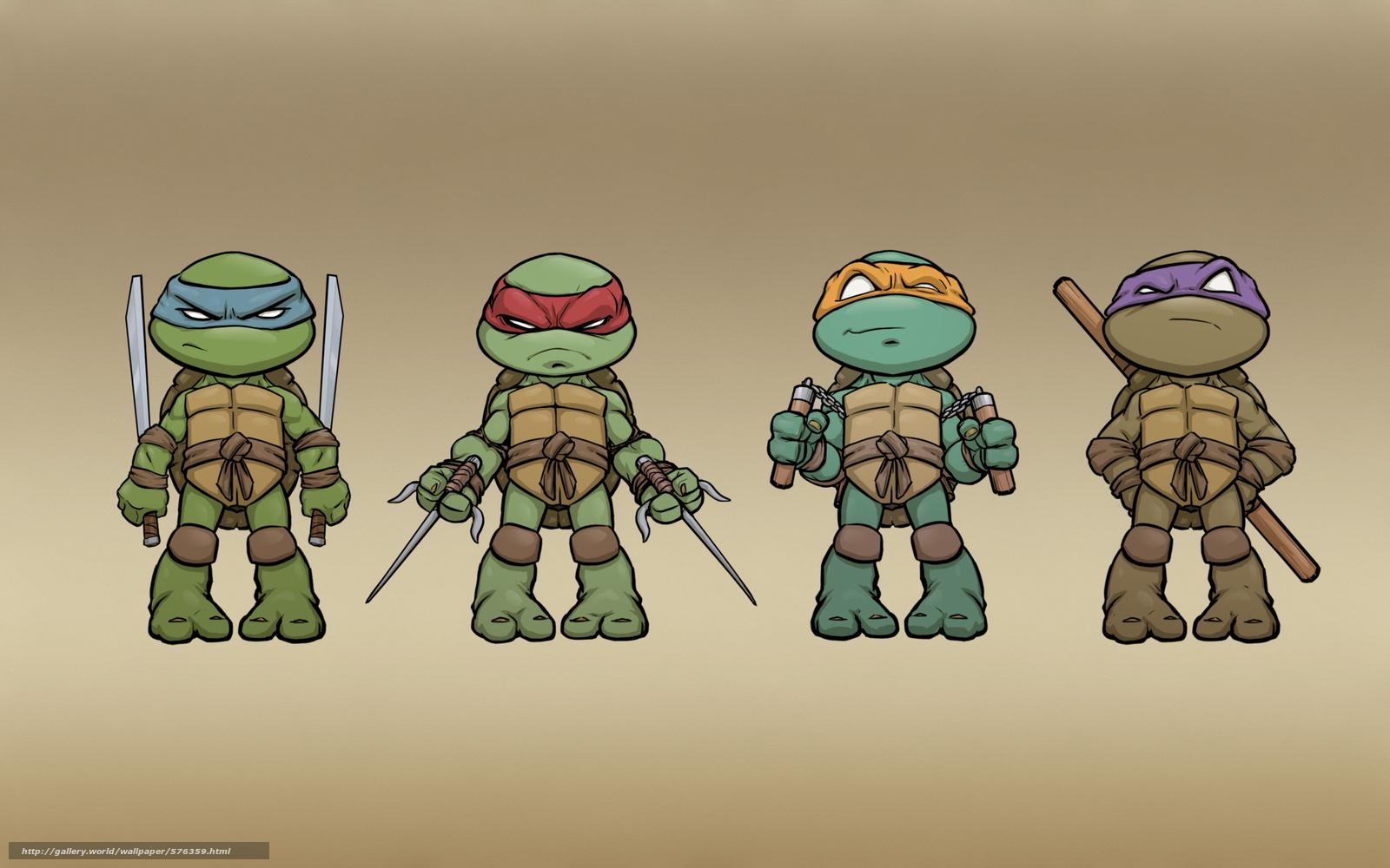 ninja turtles cartoon wallpaper hd