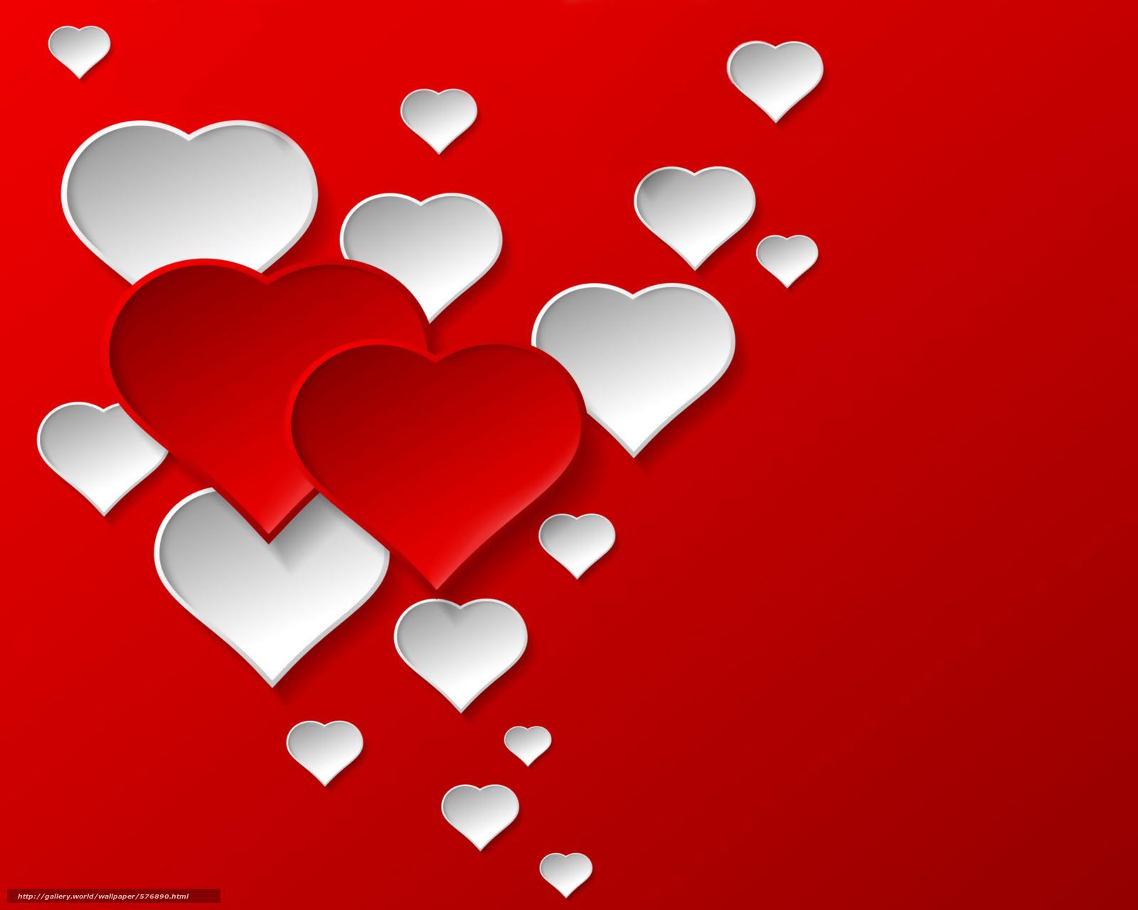 Descargar gratis amor,  fondo,  corazones,  rojo Fondos de escritorio en la resolucin 2500x2000 — imagen №576890