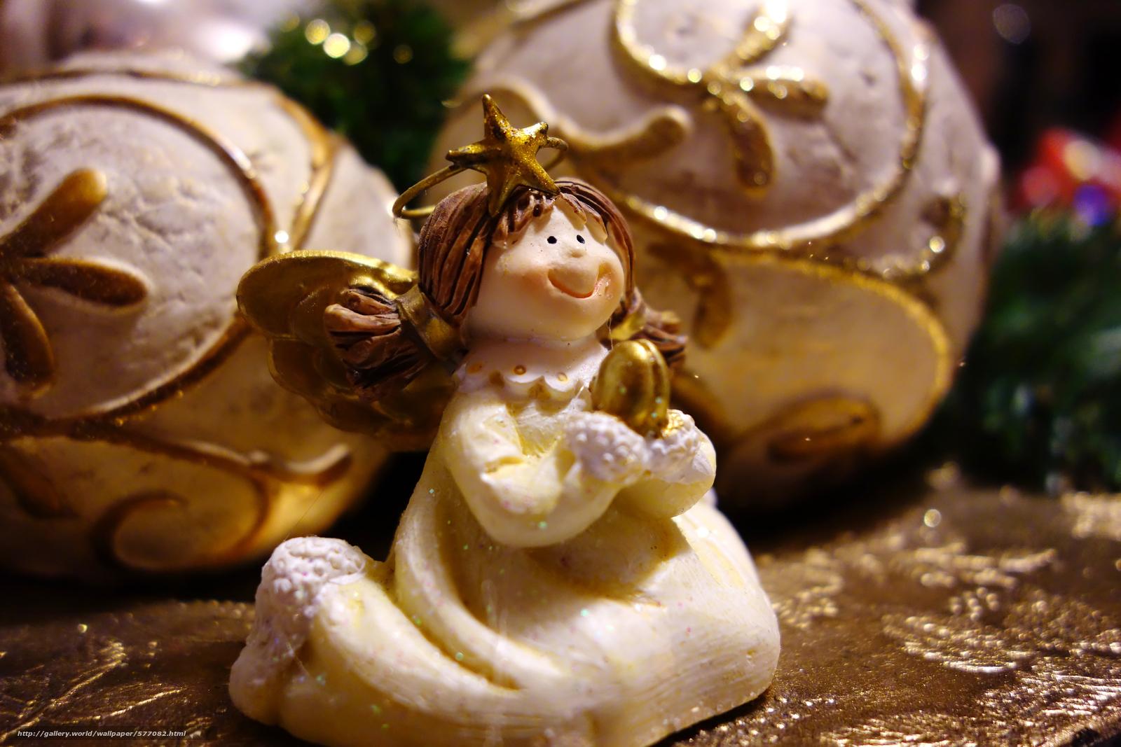 scaricare gli sfondi figurina,  Palloncini,  vacanze,  Natale Sfondi gratis per la risoluzione del desktop 5472x3648 — immagine №577082
