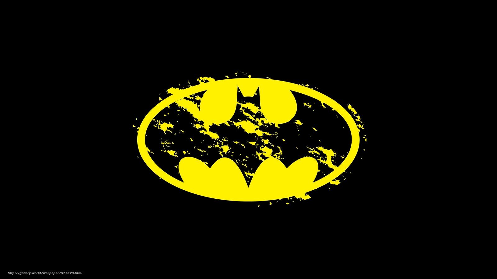 Скачать обои фон,  лого,  Бэтмен бесплатно для рабочего стола в разрешении 5500x3094 — картинка №577373