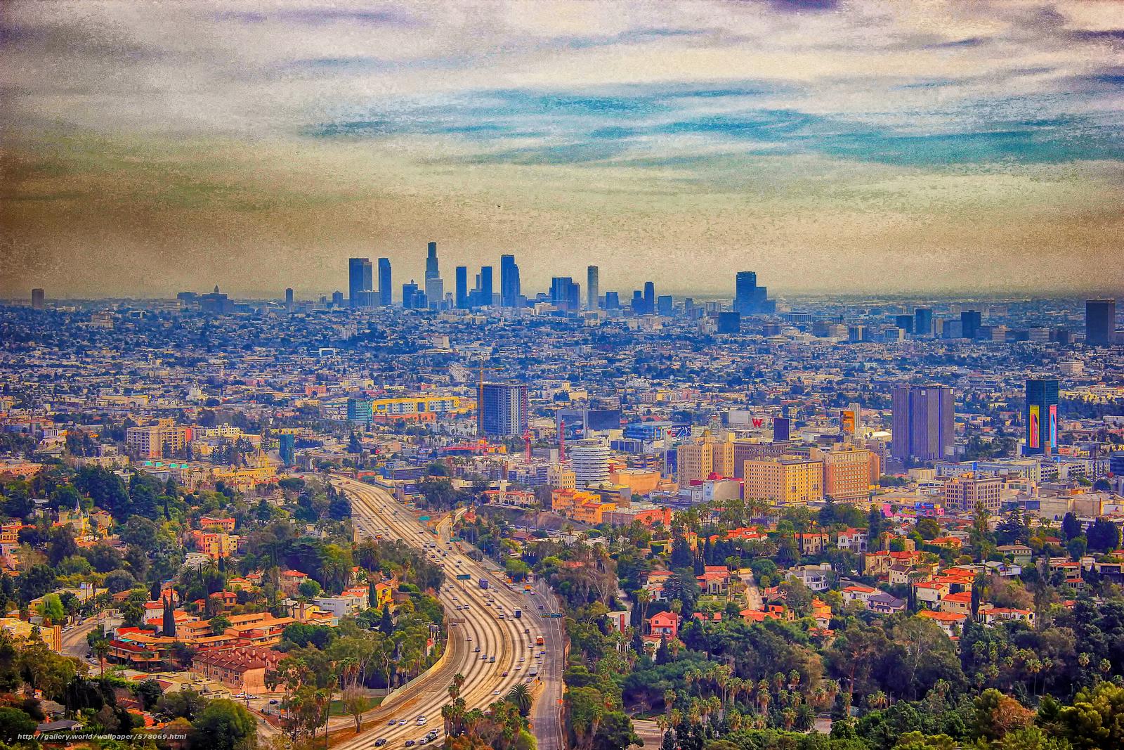 Download Hintergrund Los Angeles Usa In Sud Kalifornien