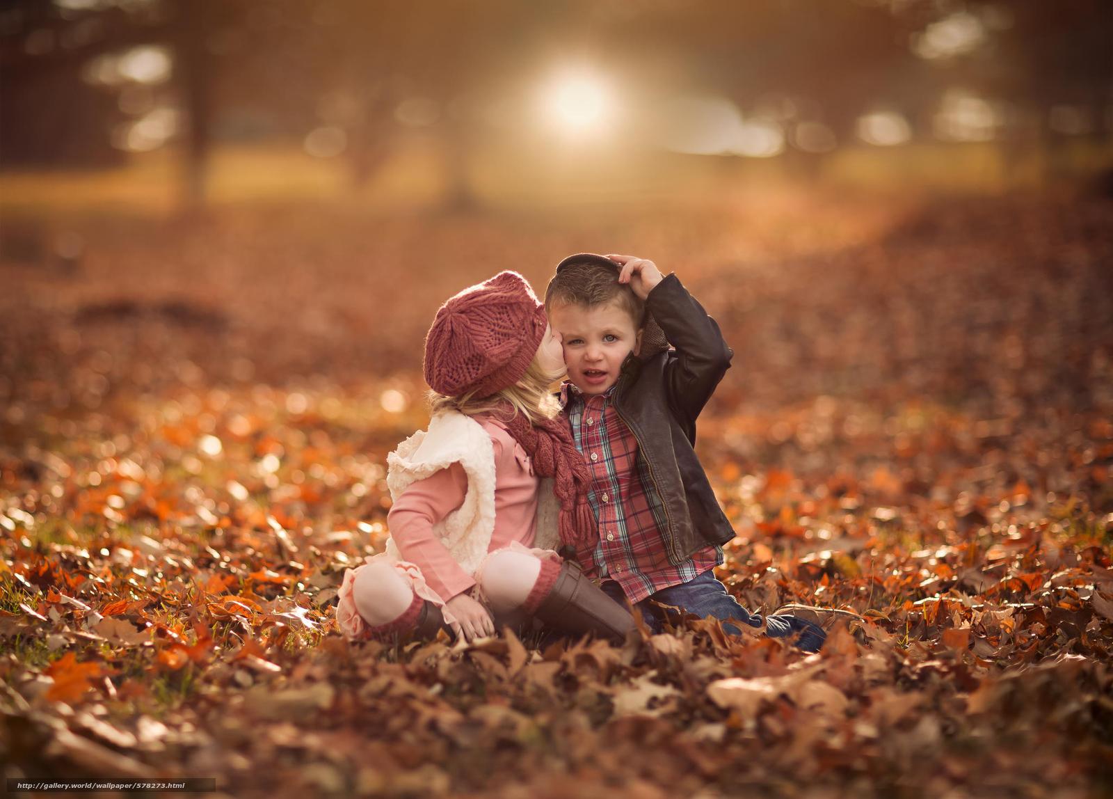 Download Hintergrund Laub,  Mädchen,  Herbst,  Bokeh Freie desktop Tapeten in der Auflosung 2048x1470 — bild №578273