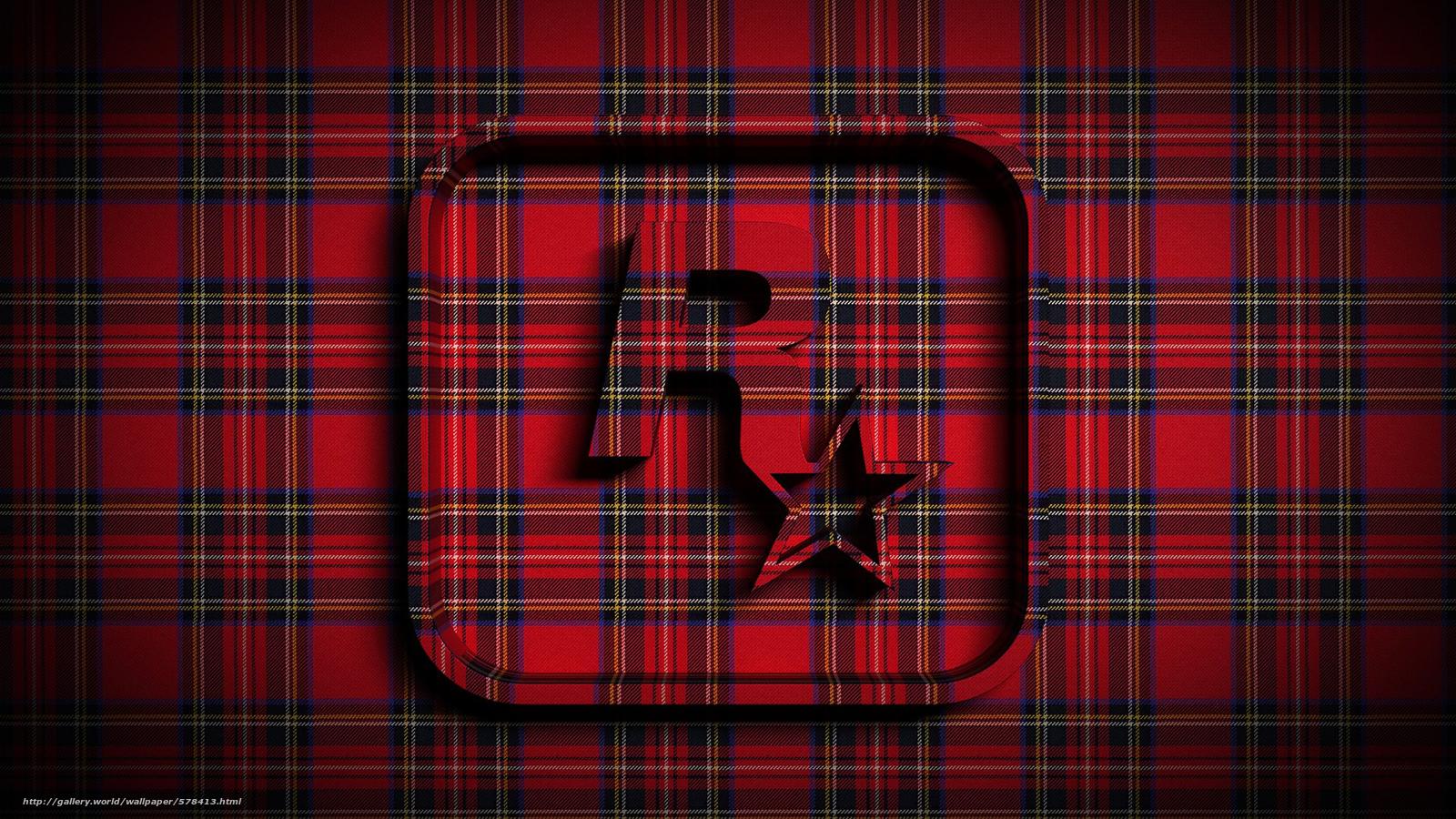 Скачать обои звезда,  объем,  шотландка,  ткань бесплатно для рабочего стола в разрешении 1920x1080 — картинка №578413
