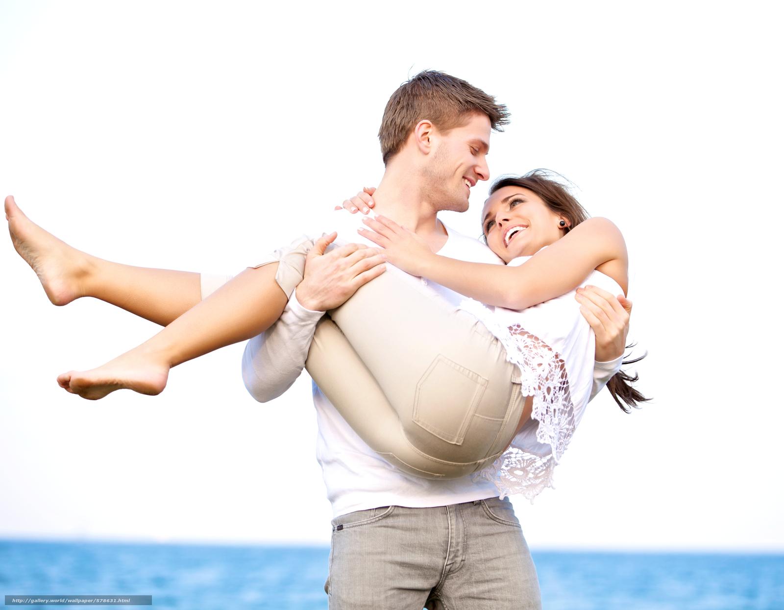 Скачать обои берег,  девушка,  любовь,  парень бесплатно для рабочего стола в разрешении 4653x3622 — картинка №578631