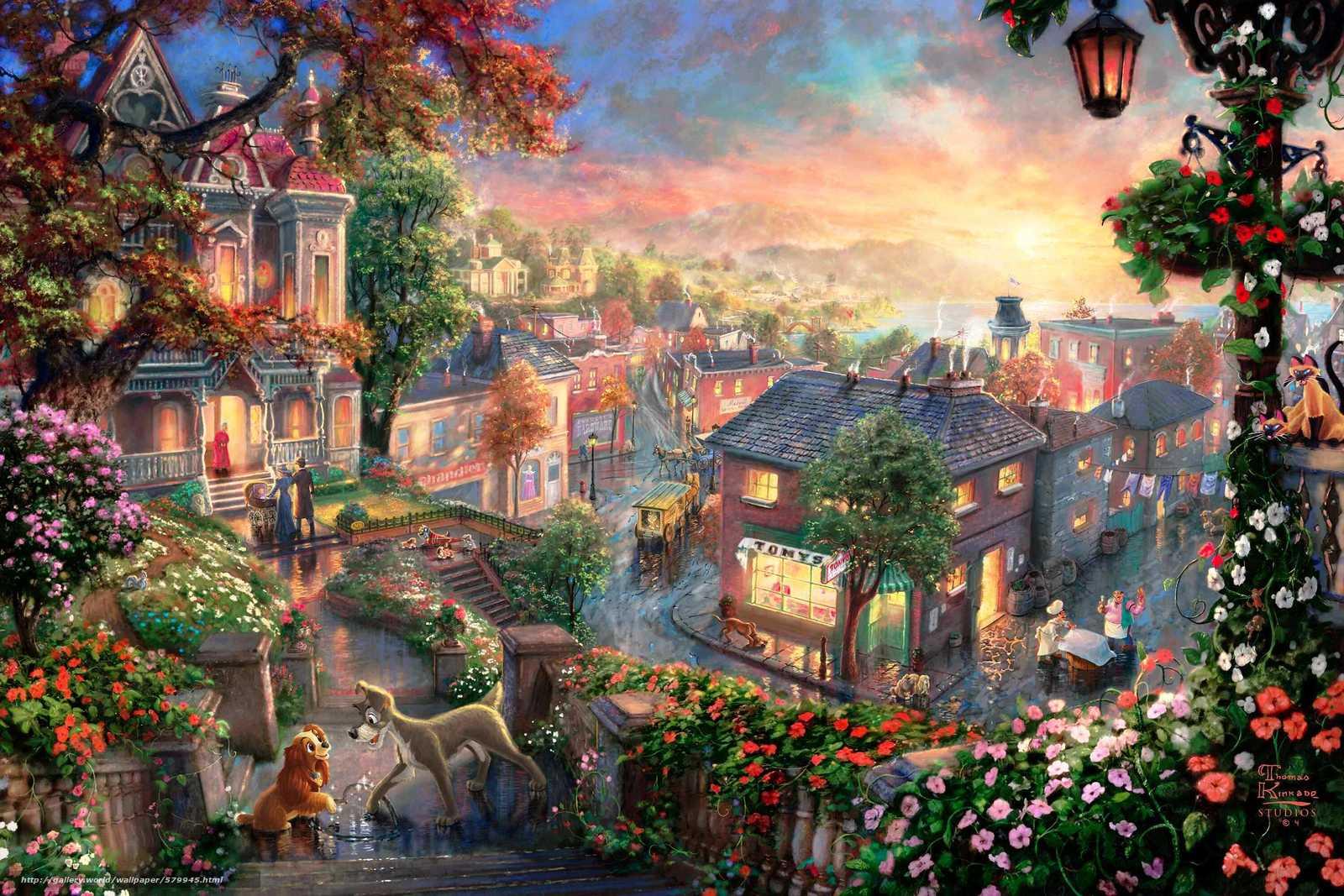 scaricare gli sfondi lanterna,  cuore,  cocker,  tramonto Sfondi gratis per la risoluzione del desktop 3000x2000 — immagine №579945