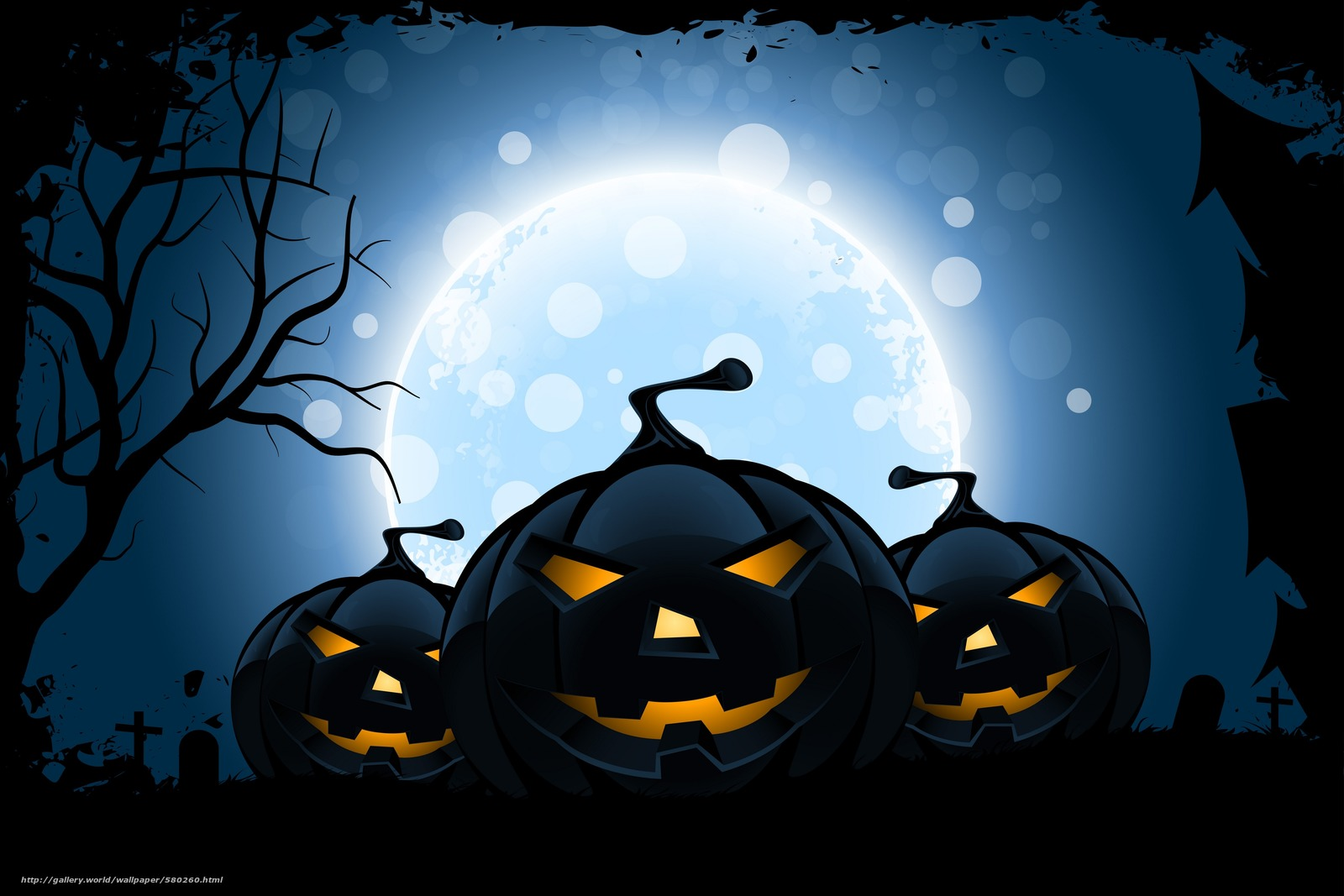 Tlcharger fond d 39 ecran halloween horreur de vacances - Image halloween drole ...