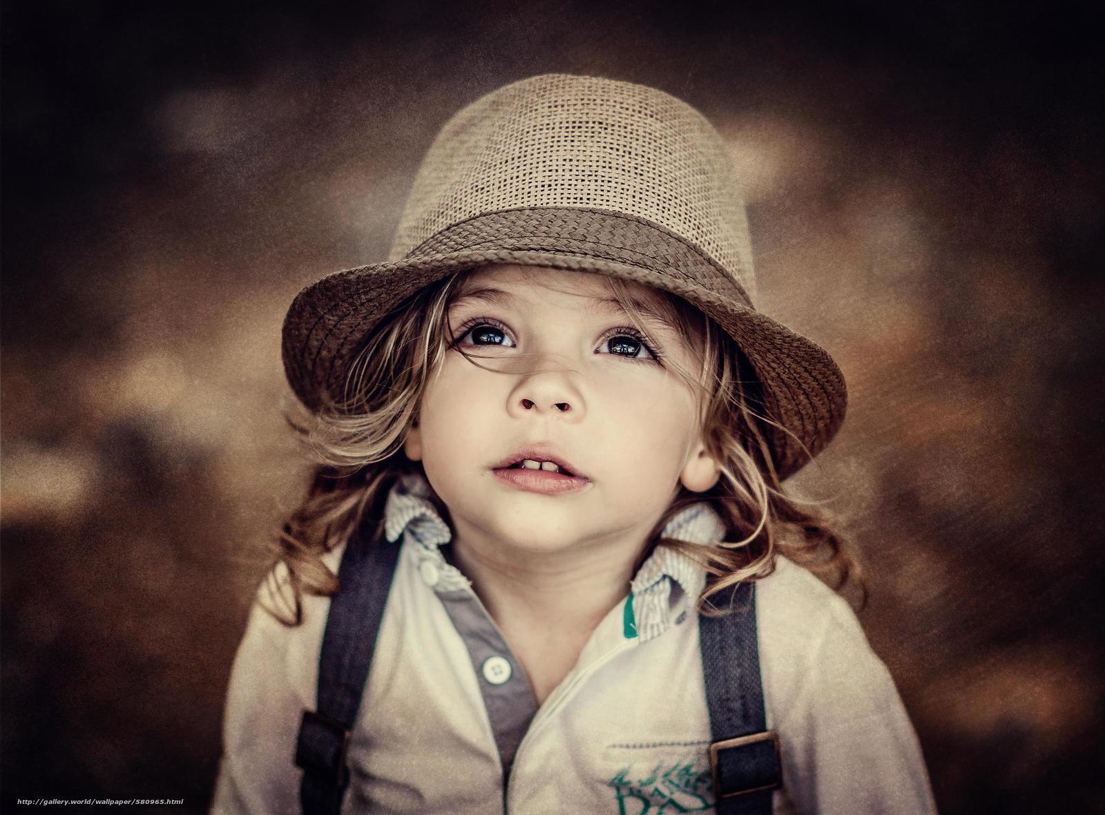Descargar gratis sombrero,  degradación,  retrato,  ver Fondos de escritorio en la resolucin 2048x1510 — imagen №580965