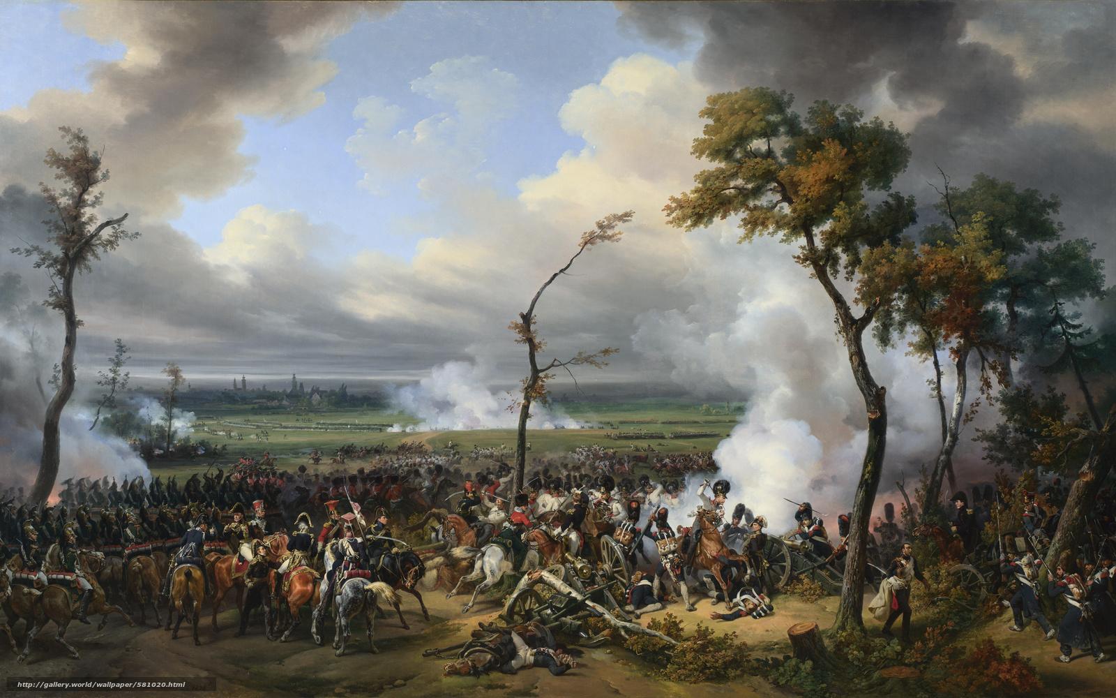 Bitva Za Hanau Frantsuzskiy Istoricheskiy Jivopise Www