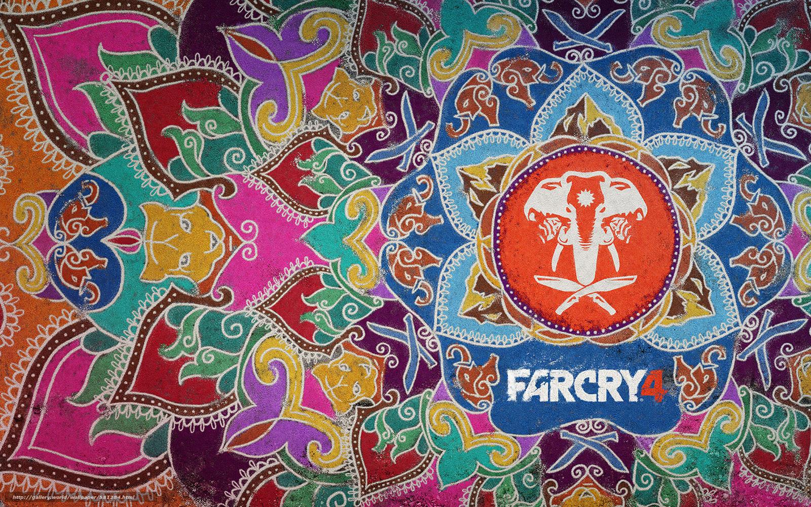Download Hintergrund Elefanten, MUSTER, Farben, Waffe Freie desktop ...