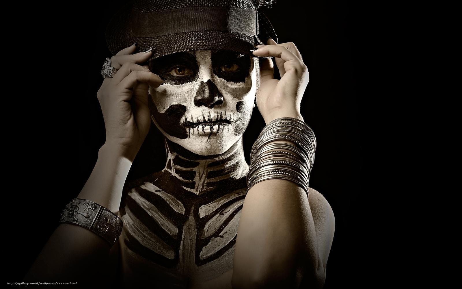 Tlcharger fond d 39 ecran style maquillage fille masque for Fond decran styler