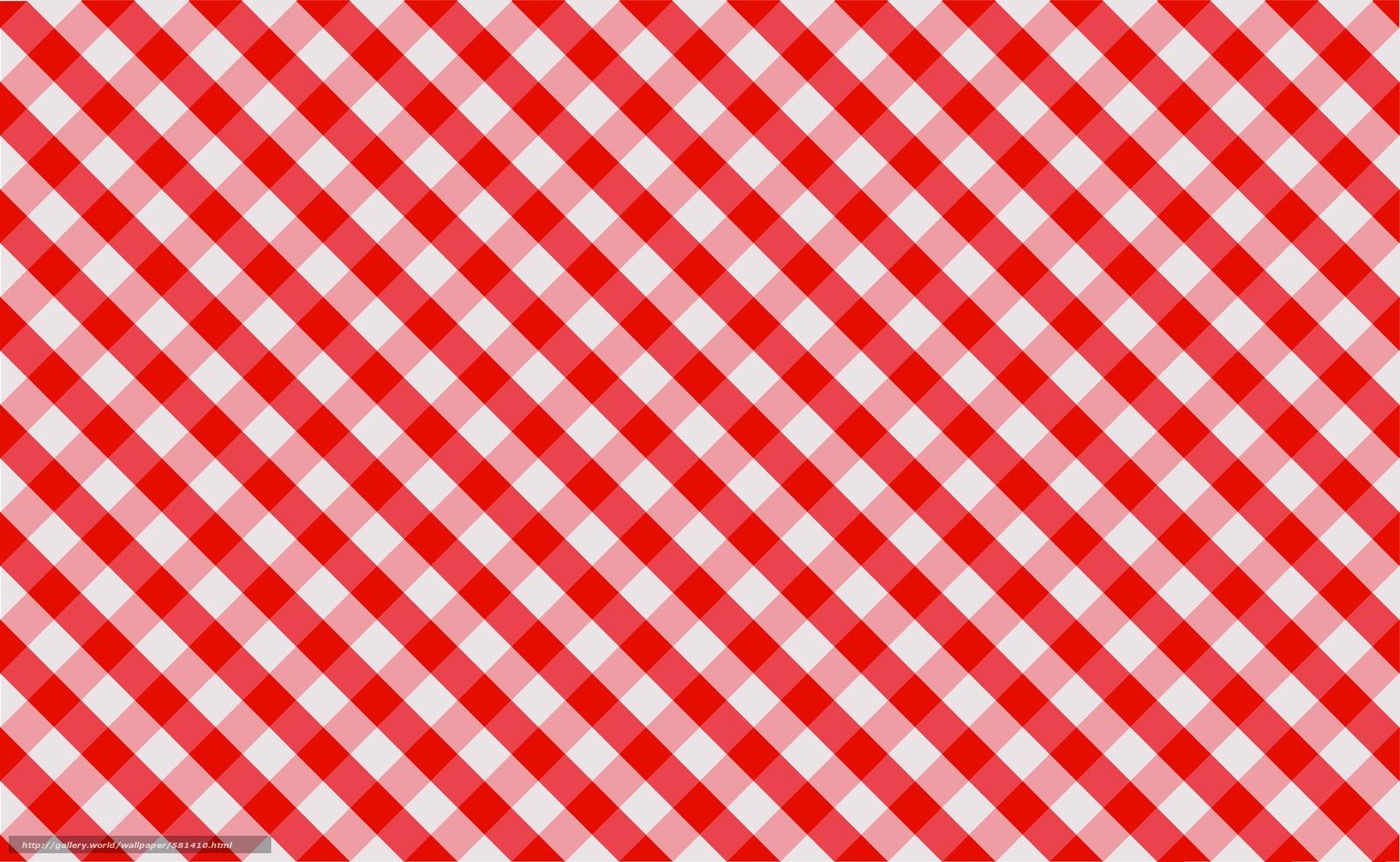 Скачать обои ткань,  красный,  обои,  клетки бесплатно для рабочего стола в разрешении 3903x2404 — картинка №581410