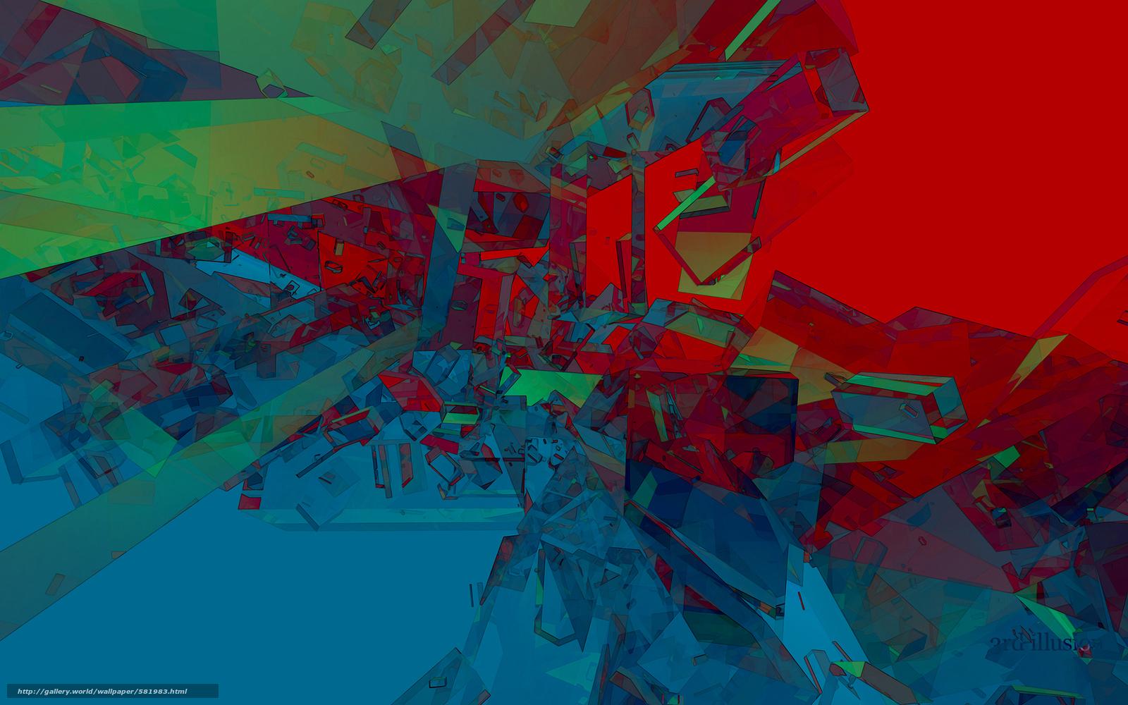 Скачать обои abstract, 3d, art бесплатно для ...: ru.gde-fon.com/download/abstract_3d_art/581983/1920x1200