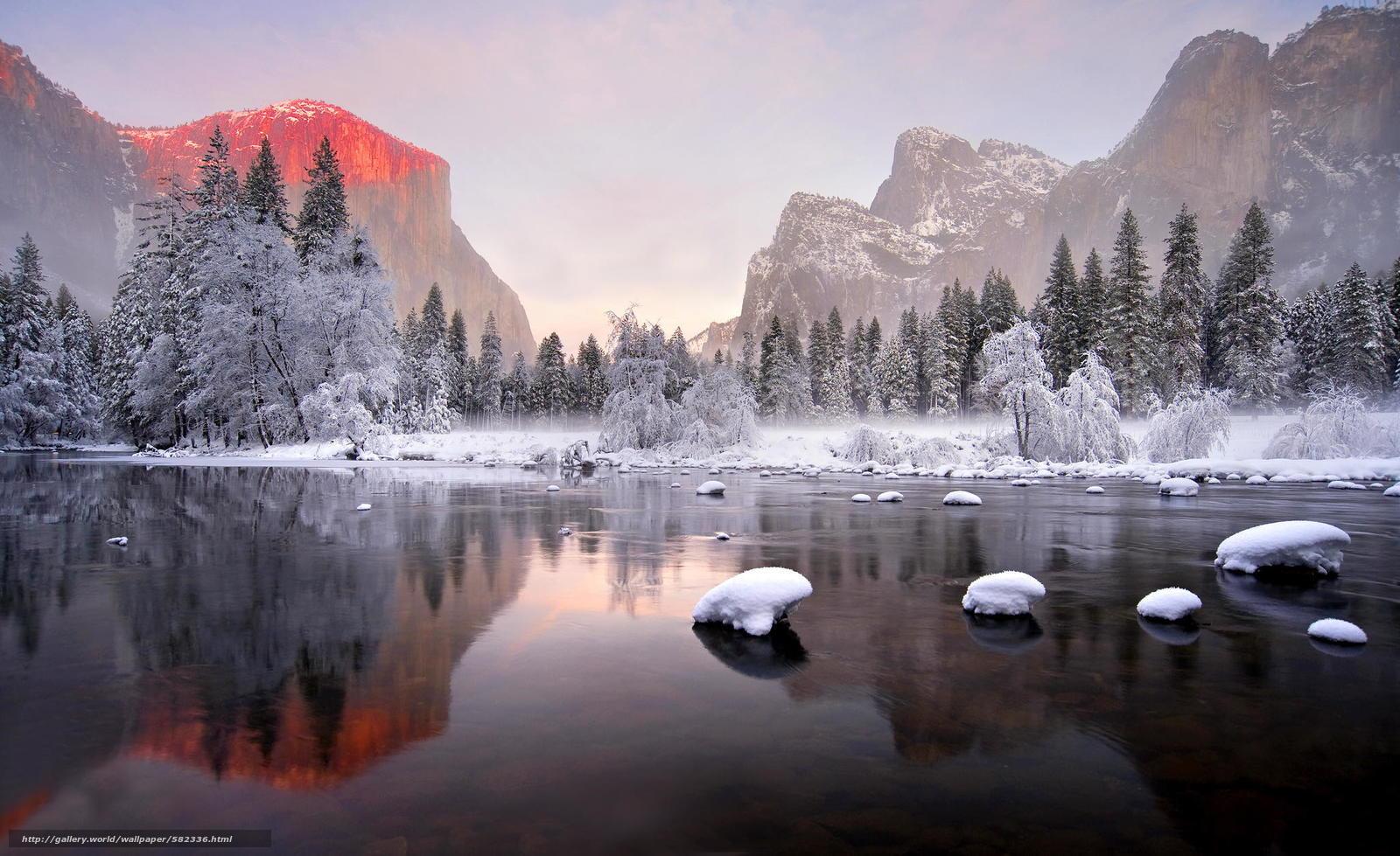scaricare gli sfondi riflessione,  foresta,  Montagne Sfondi gratis per la risoluzione del desktop 2048x1253 — immagine №582336