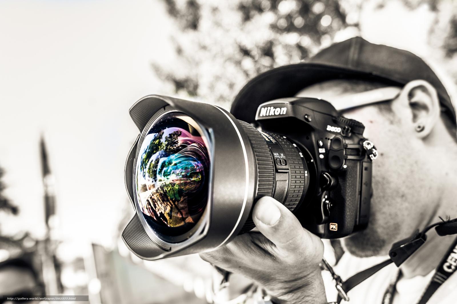 Скачать обои фотограф,  объектив бесплатно для рабочего стола в разрешении 2500x1664 — картинка №582377