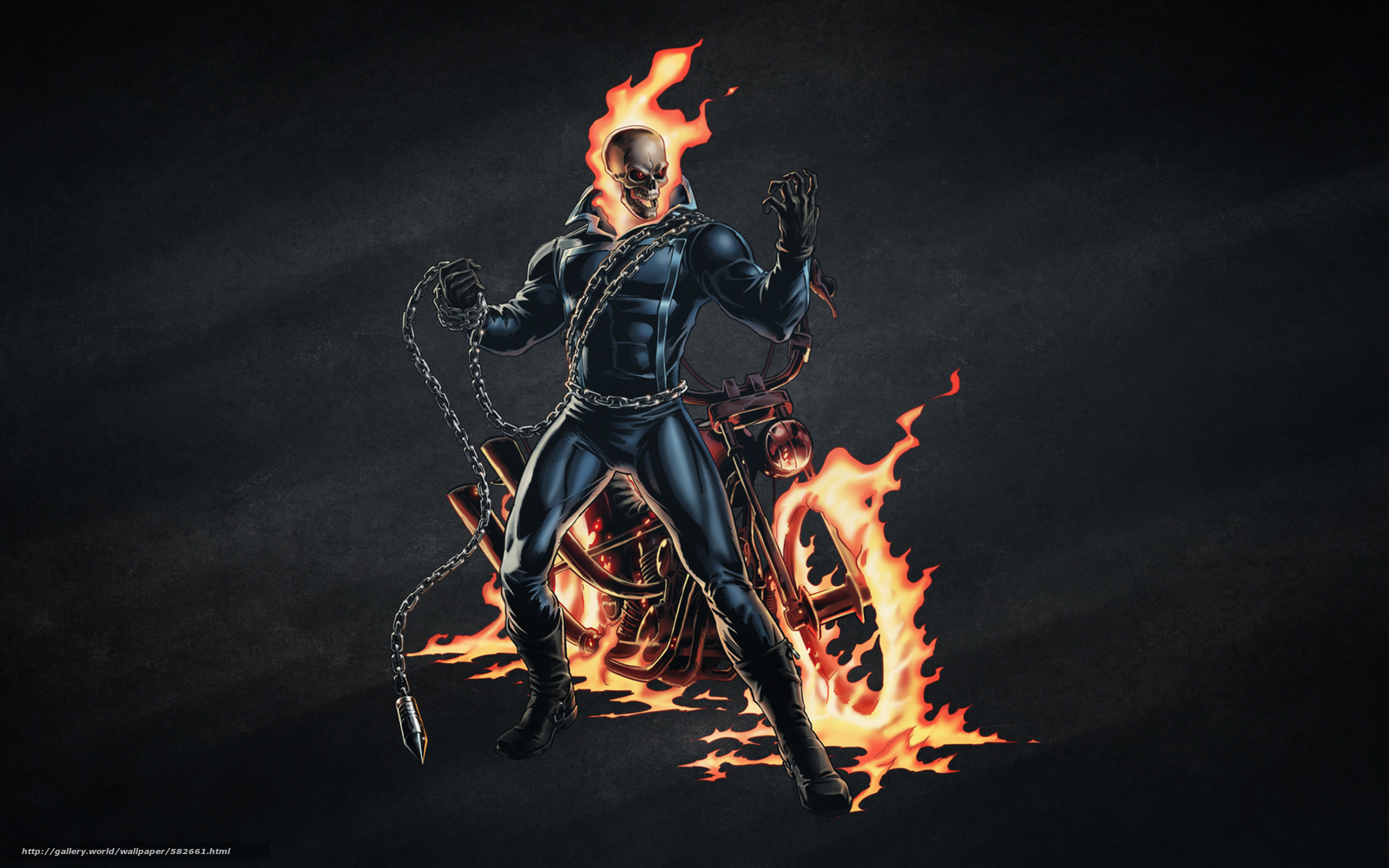 Fire Skeleton Riding Motorcycle Stock Illustration 59627467 ...