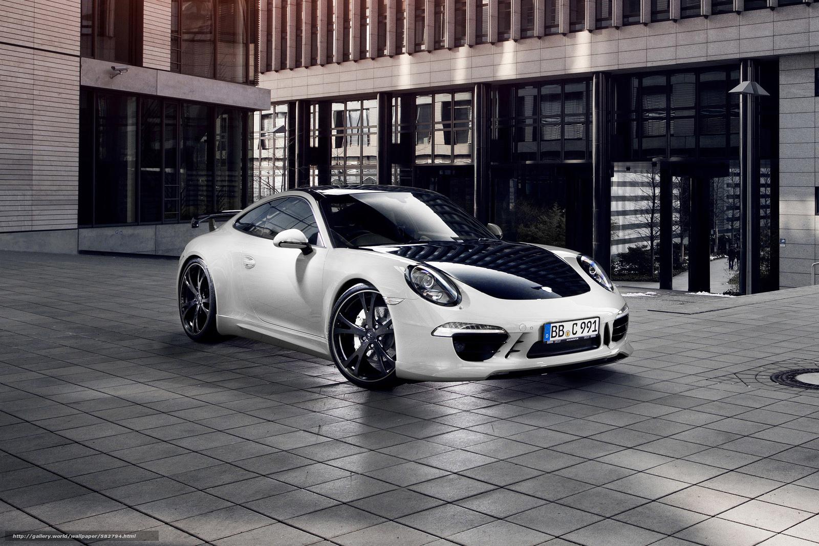 Скачать обои Porsche бесплатно для рабочего стола в разрешении 2100x1400 — картинка №582794