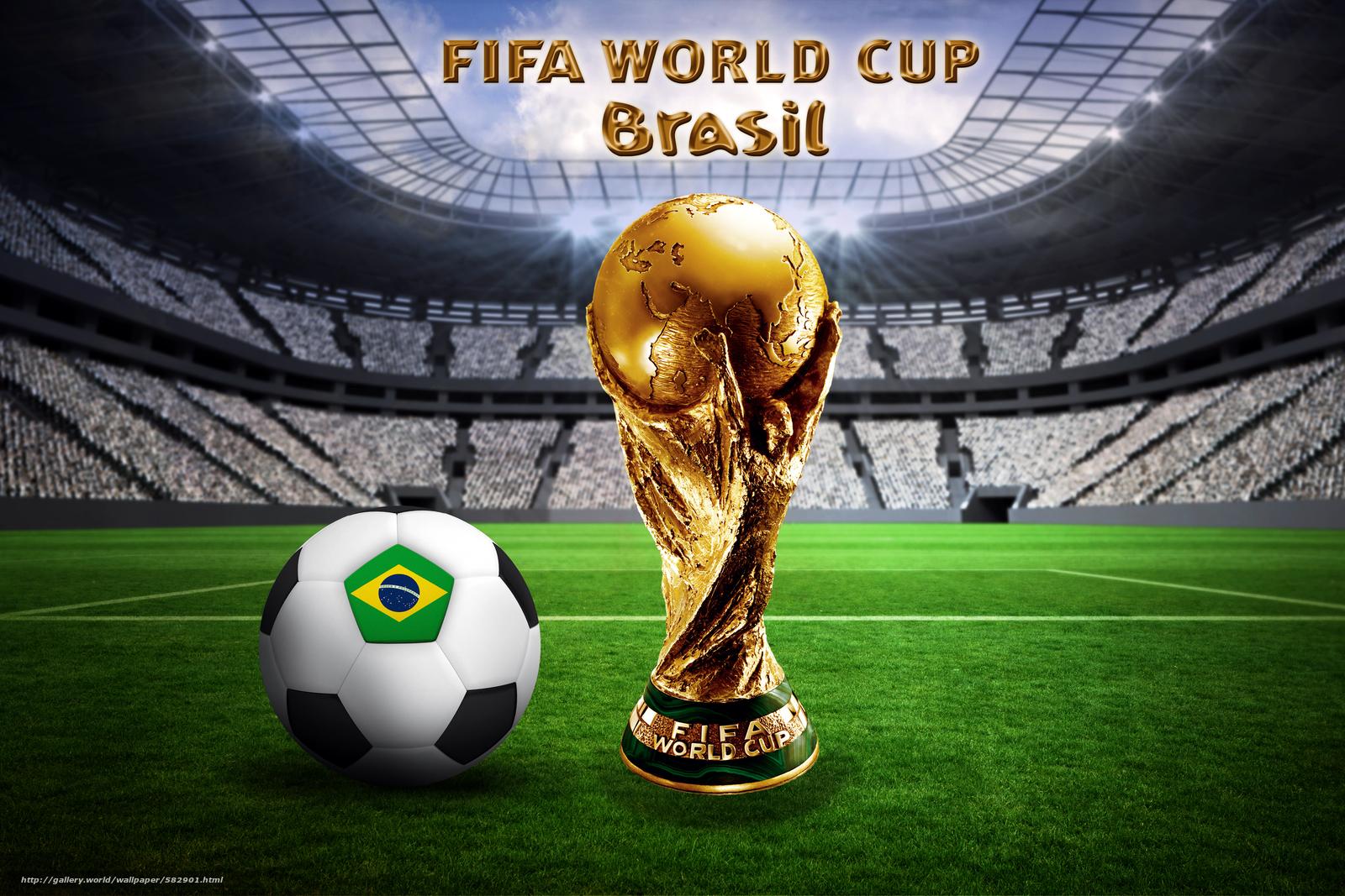 Download Hintergrund Fussball Brasilien Ball Wm Freie