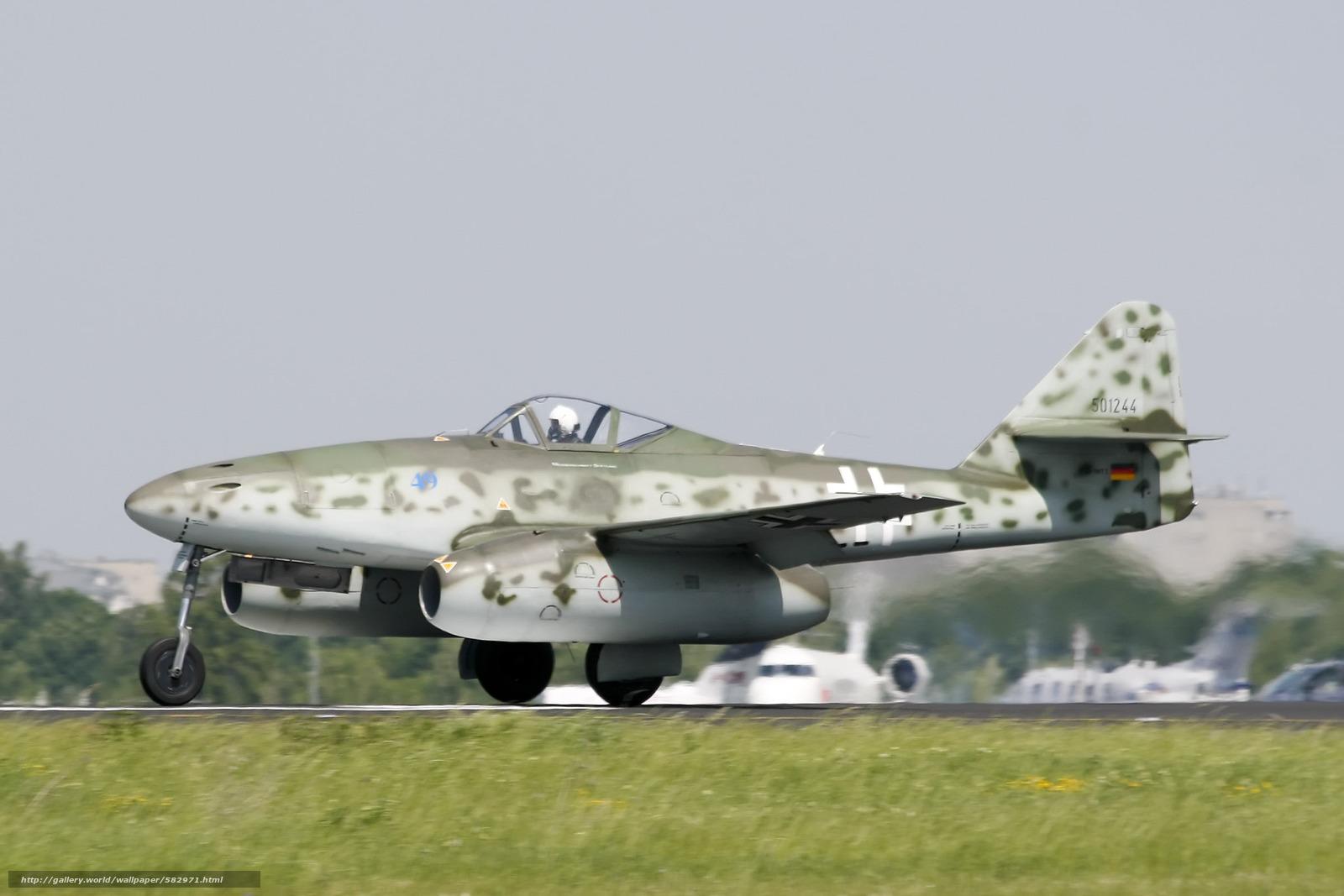 Скачать обои бомбардировщик,  мировой,  войны,  Мессерщмитт бесплатно для рабочего стола в разрешении 2400x1600 — картинка №582971