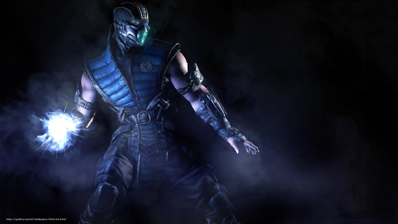 Download Wallpaper Scorpion Mortal Kombat Mortal Kombat X Games
