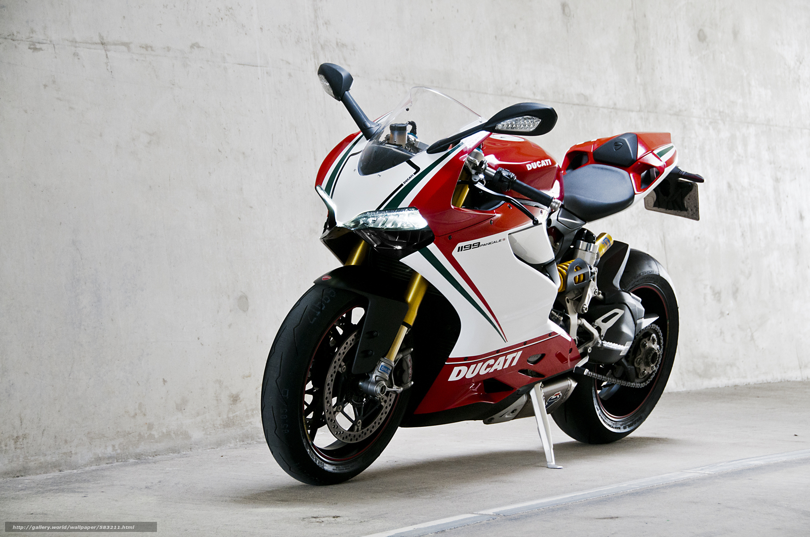 Download wallpaper white,  Ducati,  wall,  motorcycles free desktop wallpaper in the resolution 2000x1328 — picture №583211
