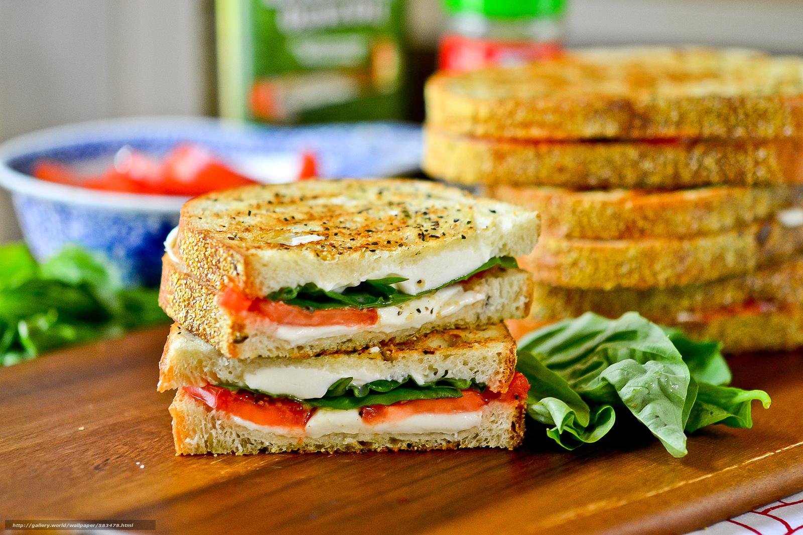 Скачать обои сэндвич,  хлеб,  бутерброд бесплатно для рабочего стола в разрешении 2048x1365 — картинка №583478