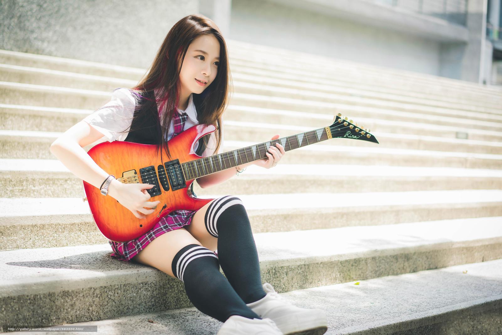 Download wallpaper guitarist,  Eastern,  Socks,  tie free desktop wallpaper in the resolution 5360x3577 — picture №583500