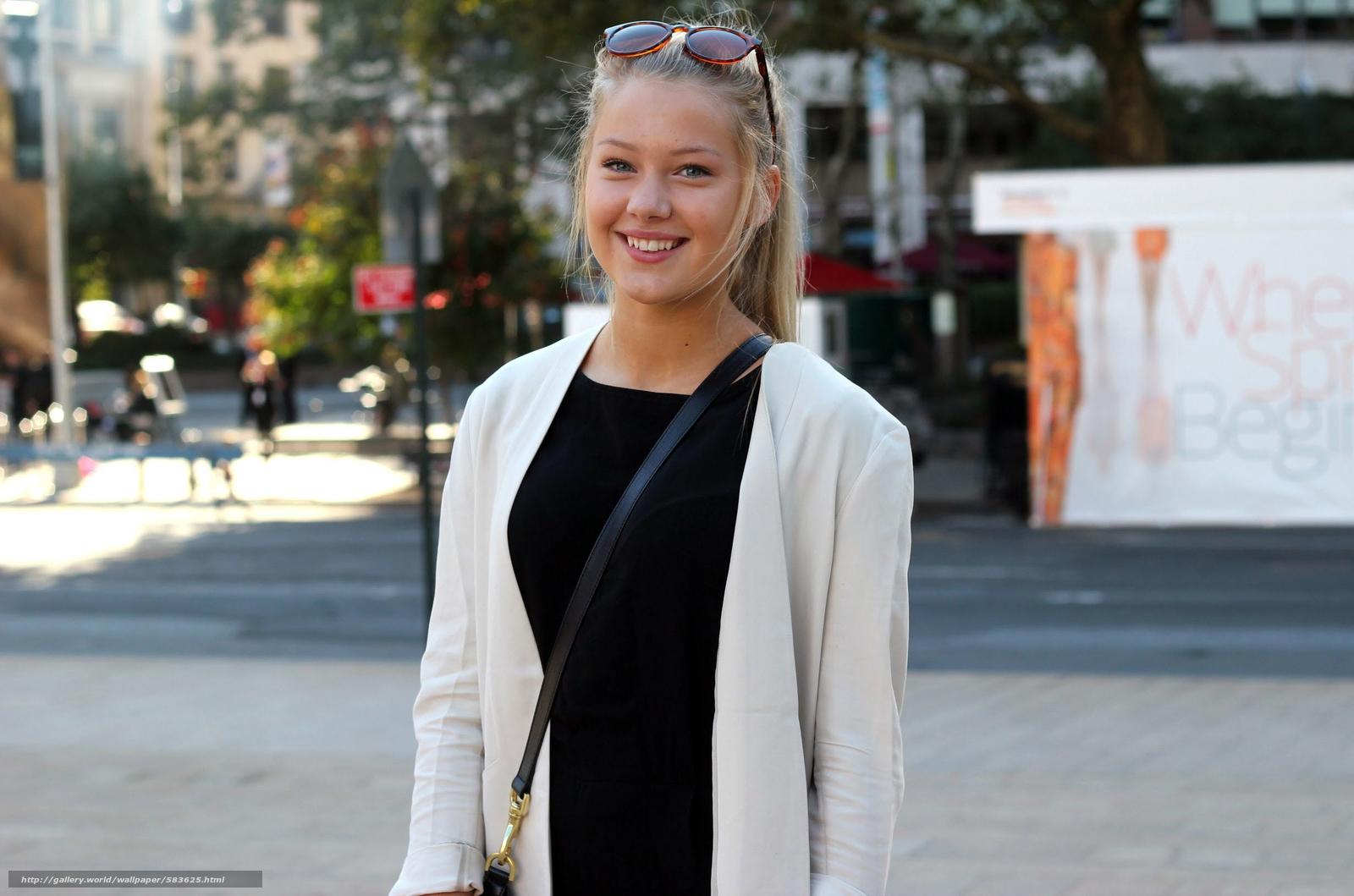 Скачать обои Erica Mohn Kvam,  white beauty,  blond бесплатно для рабочего стола в разрешении 2462x1630 — картинка №583625