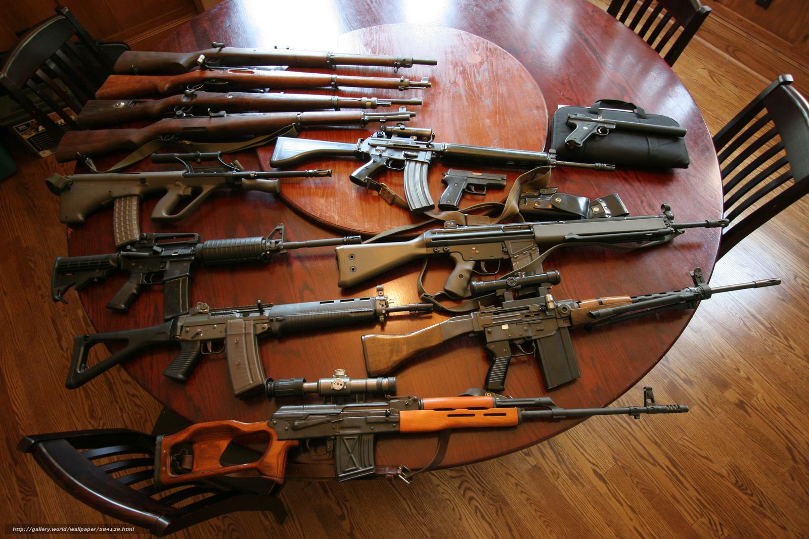 pobra tapety Maszyny,  karabiny szturmowe,  karabin snajperski,  Guns Darmowe tapety na pulpit rozdzielczoci 3504x2336 — zdjcie №584129